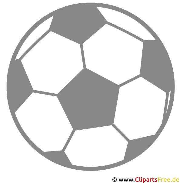 Fussball clipart kostenlos - Dessin de ballon de foot ...