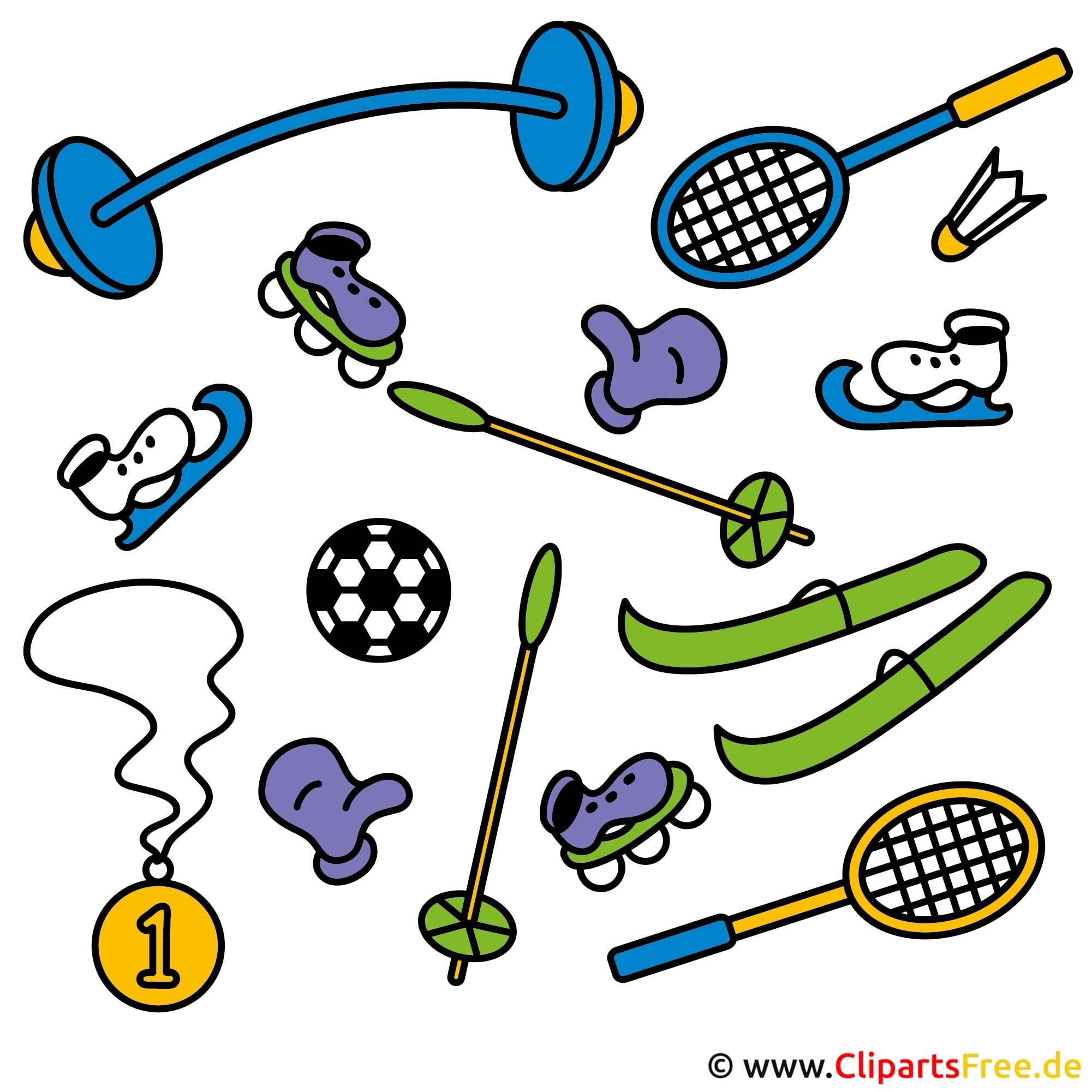 Sportbilder kostenlos- Sport Clip Art free