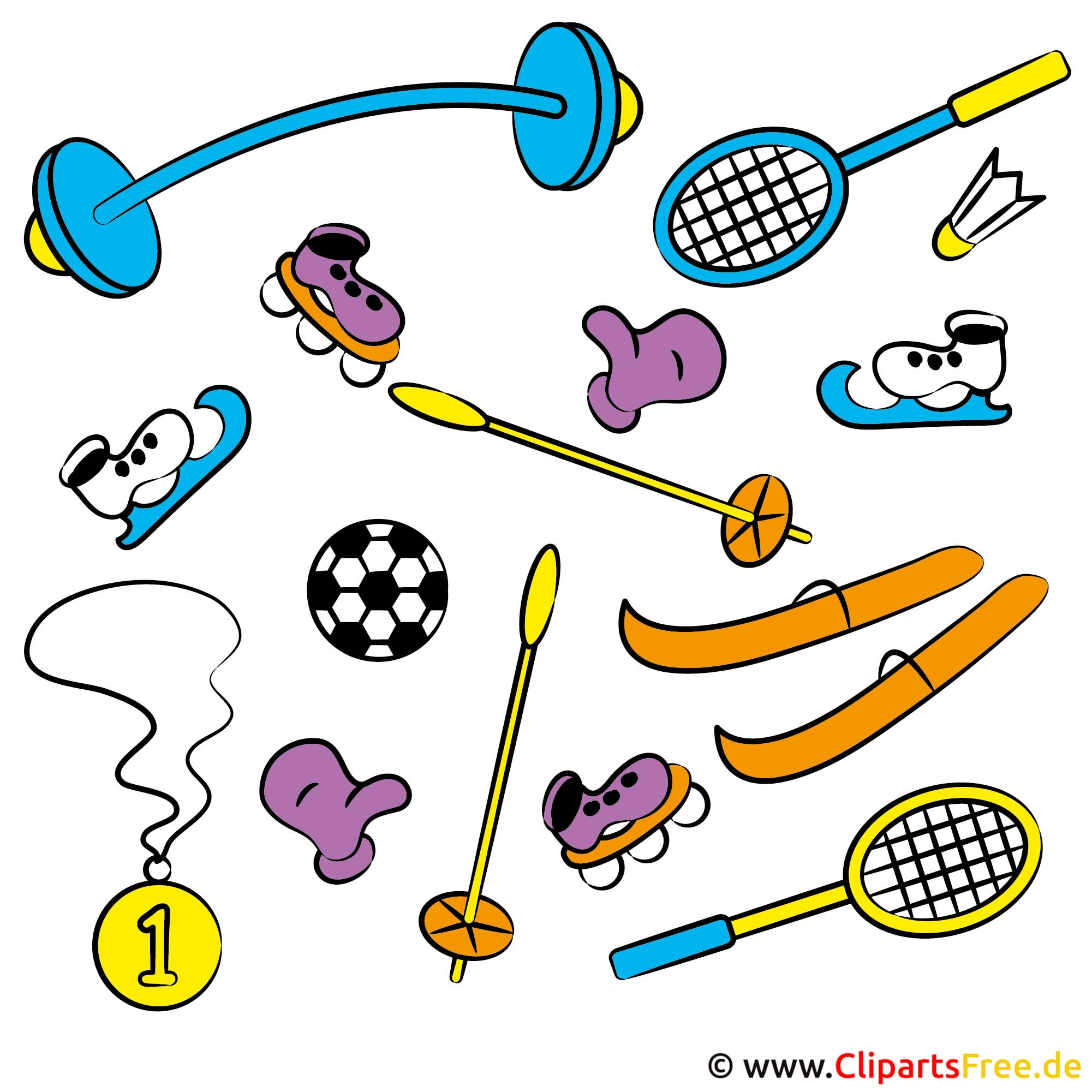 Sports Clip Art free