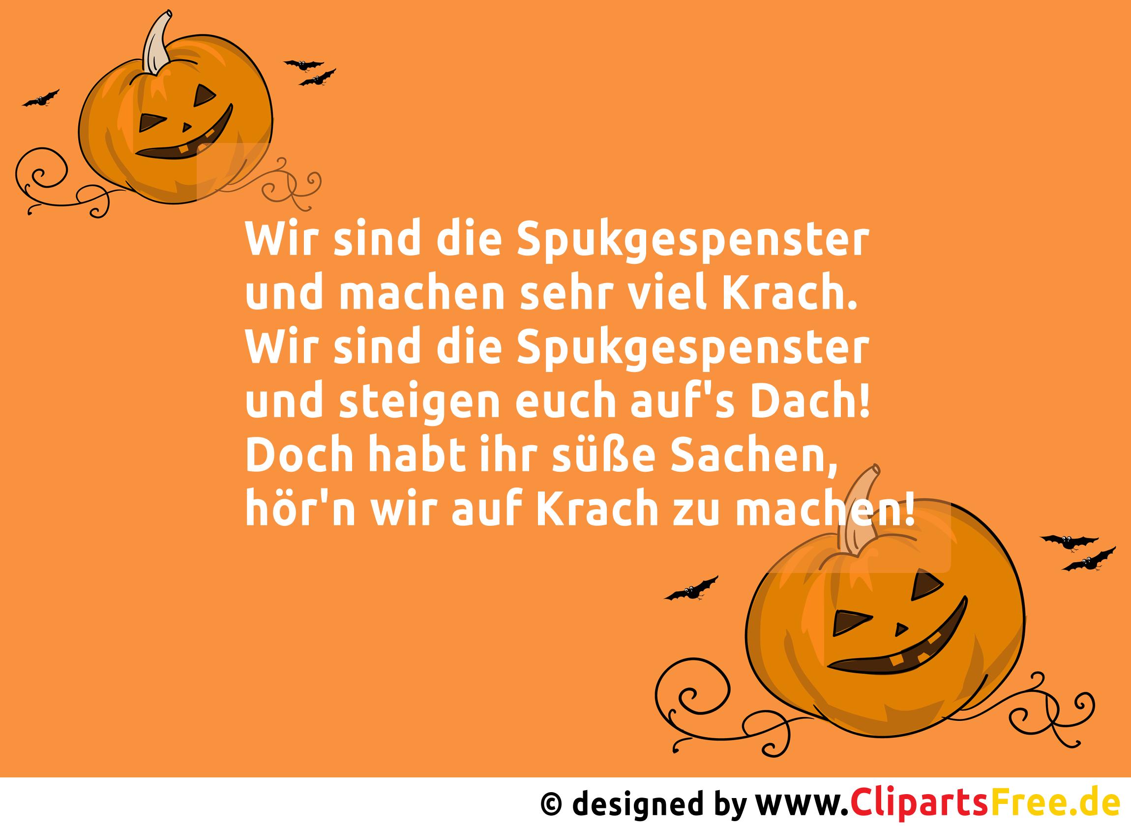 Witzige Sprüche zu Halloween via WhatsApp, Facebook ...