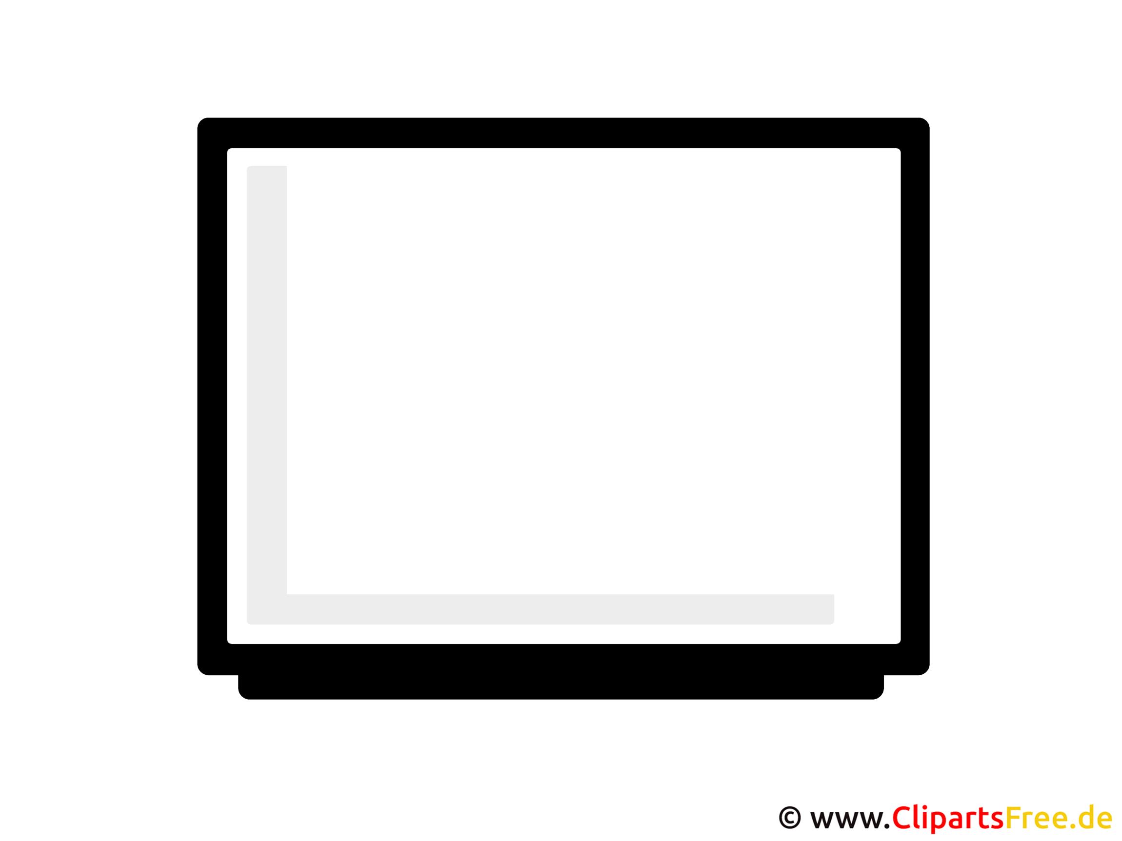 Fernseher Clipart