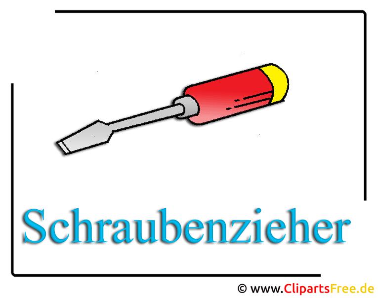 Schraubenzieher Clipart free Werkzeug