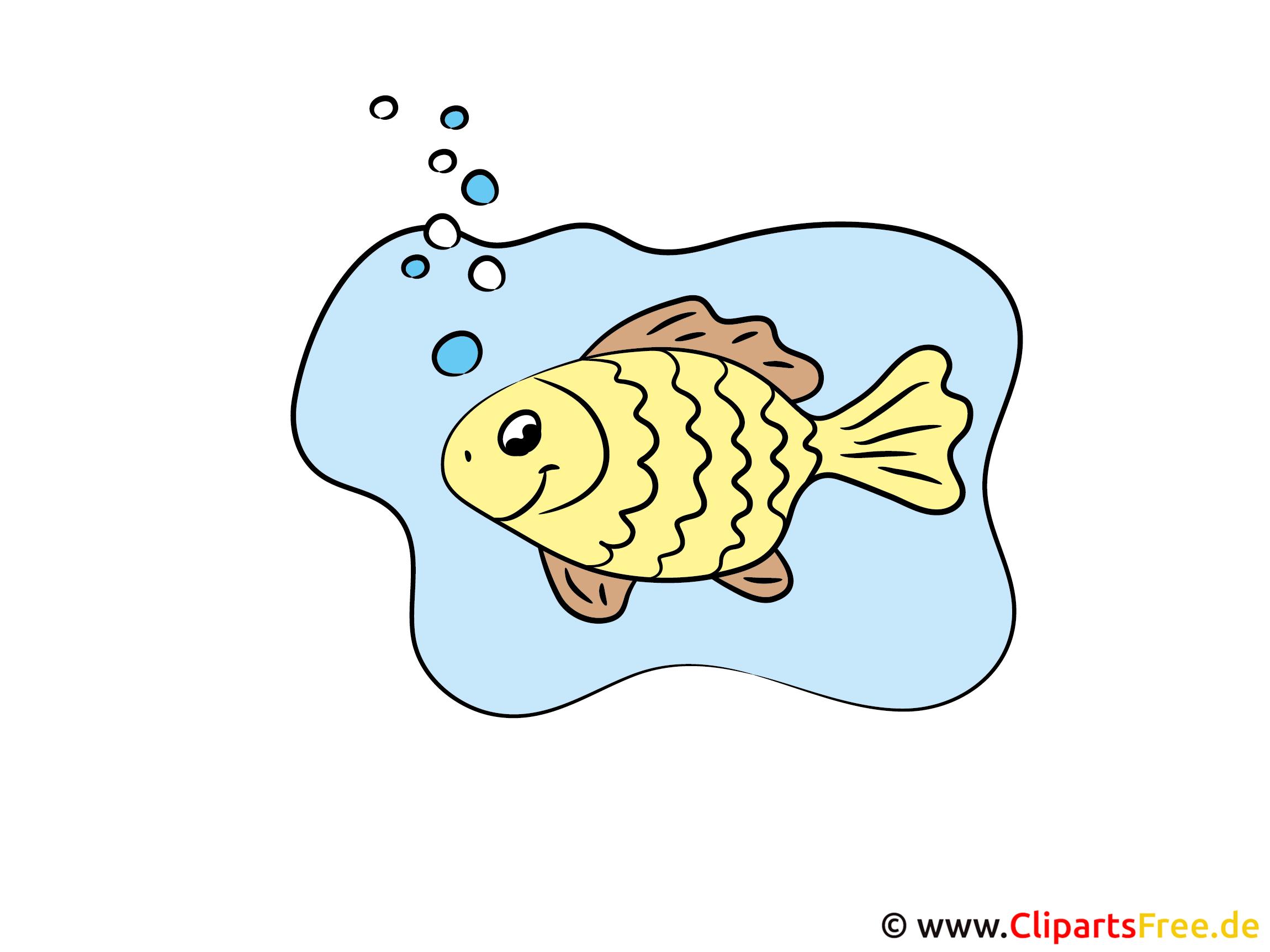 Comic Fisch