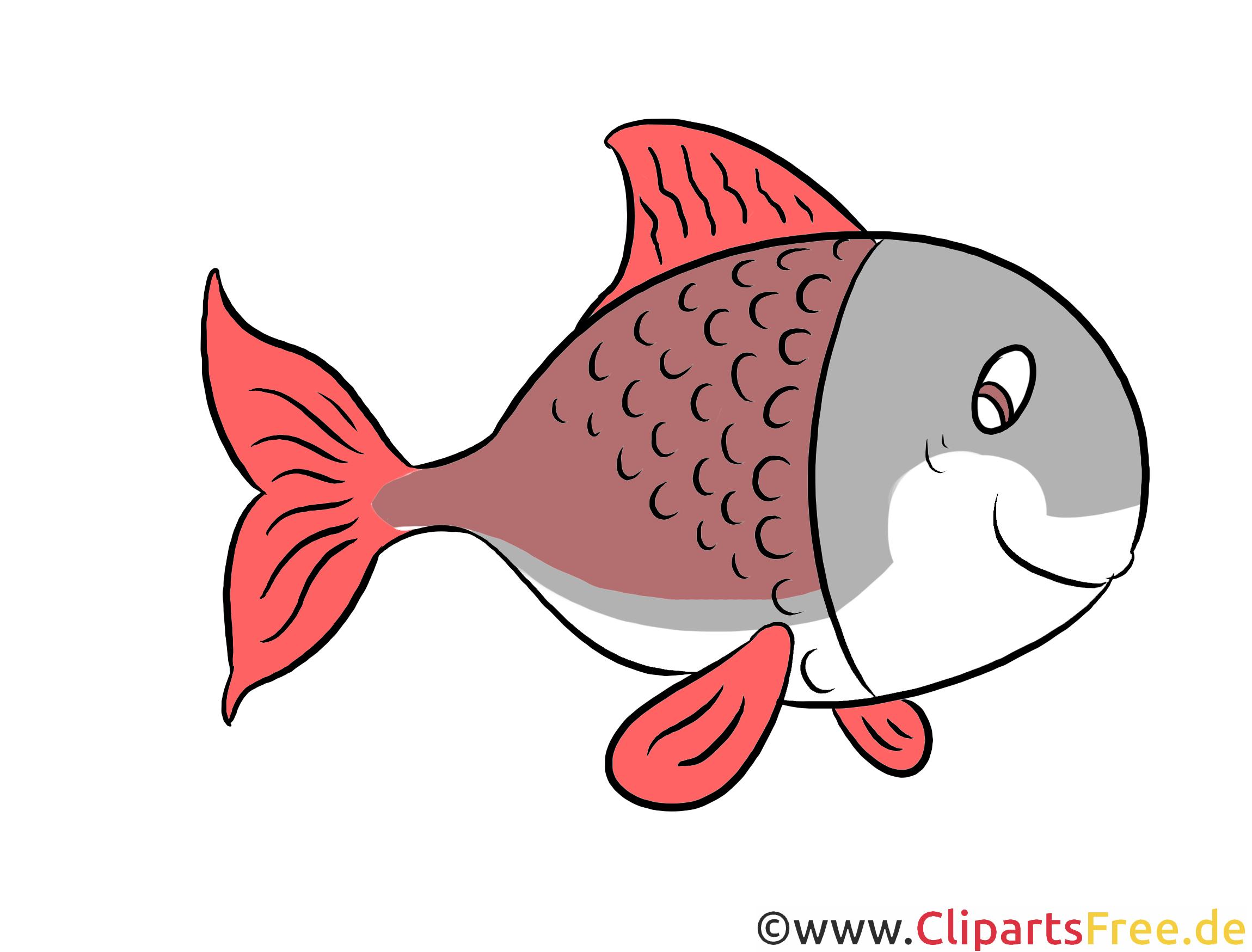 Fisch Clipart, Illustration, Bild kostenlos