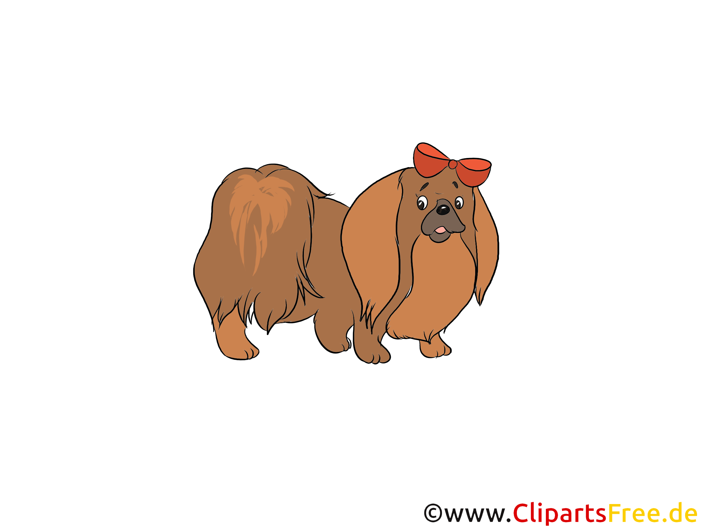 Chihuahua Clipart - Hunderassen Bilder zum Drucken