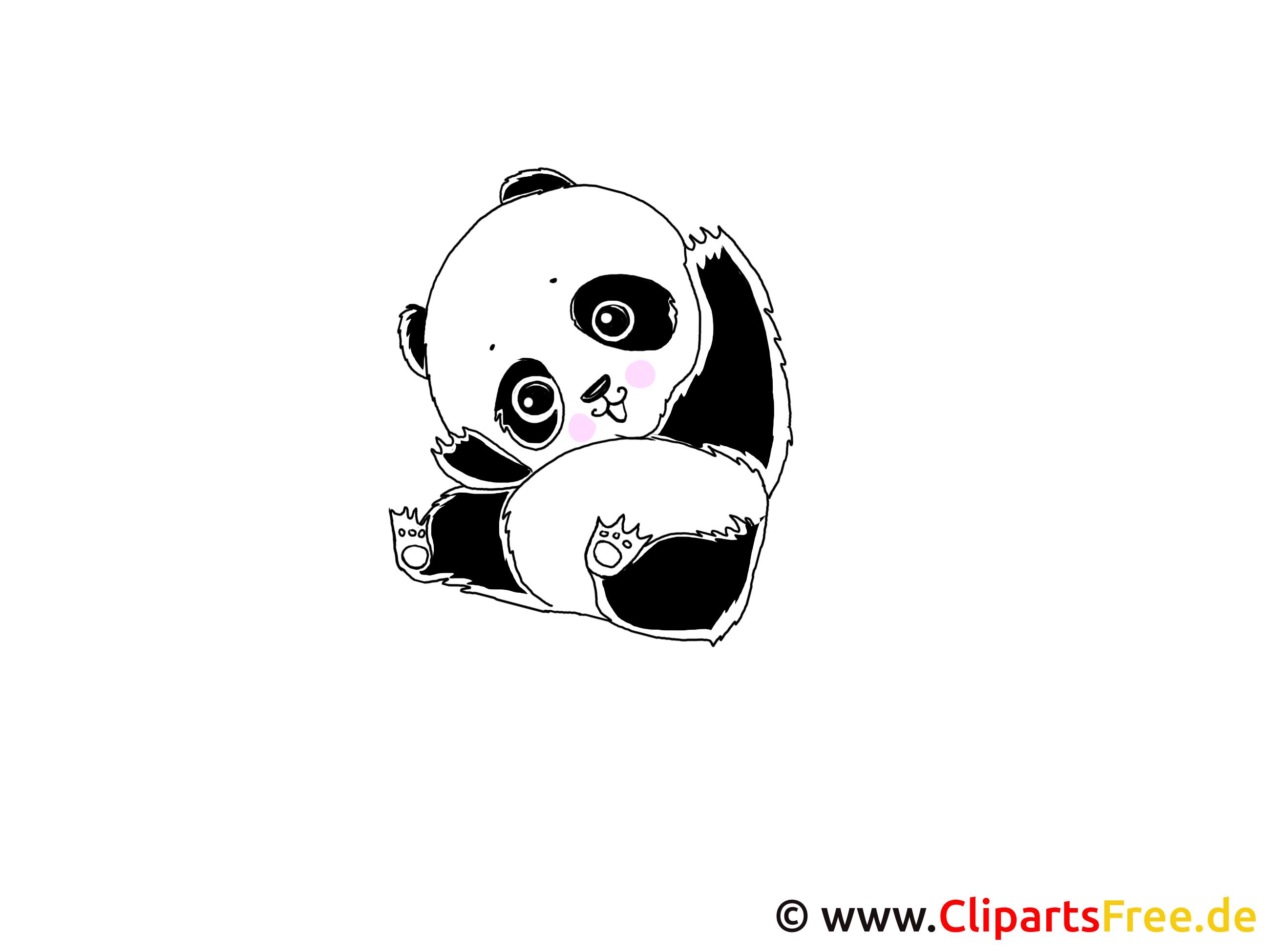 Panda Clipart download free