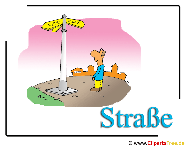 Strasse Clipart free