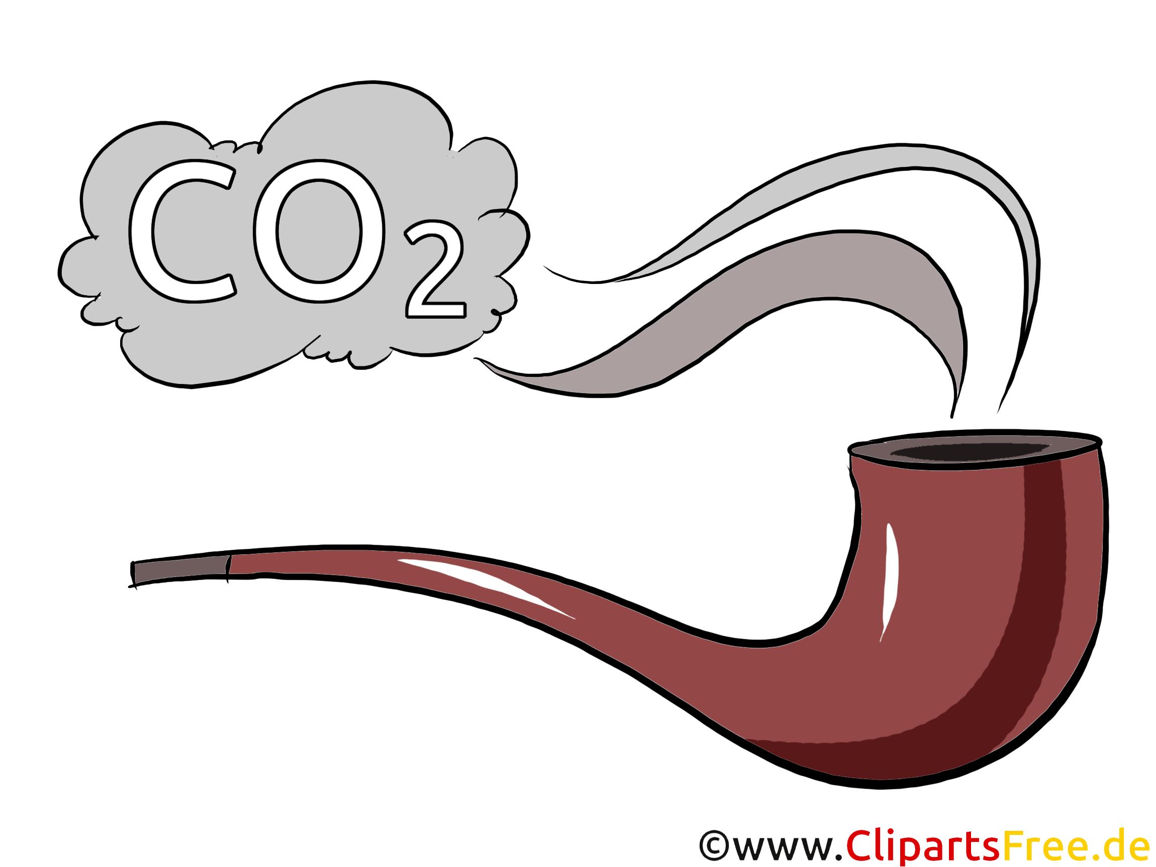 Rauchen ungesund Clipart, Bild, Illustration