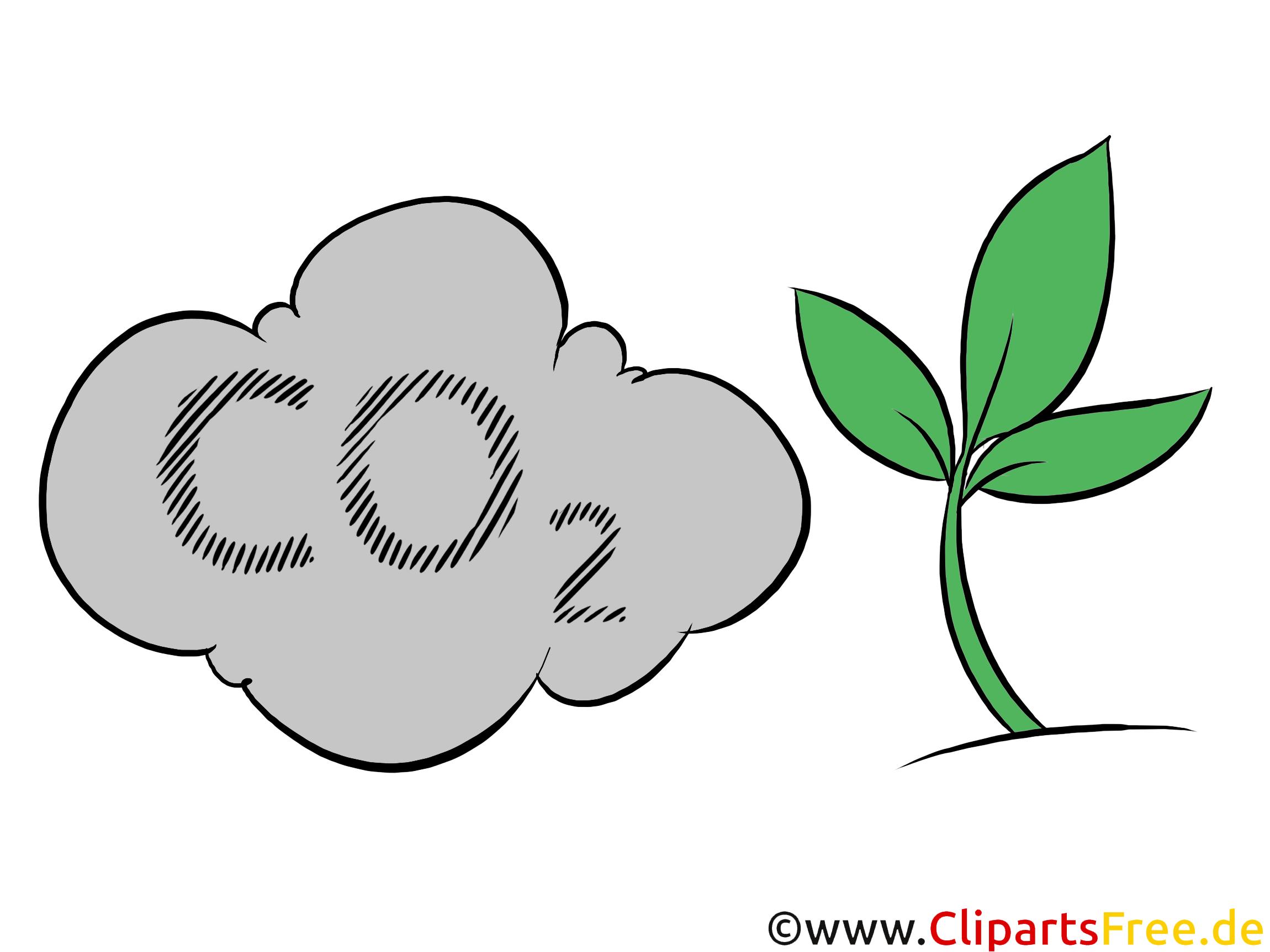 Stock Clipart zum Thema Co2-Ausstoss, Umwelt