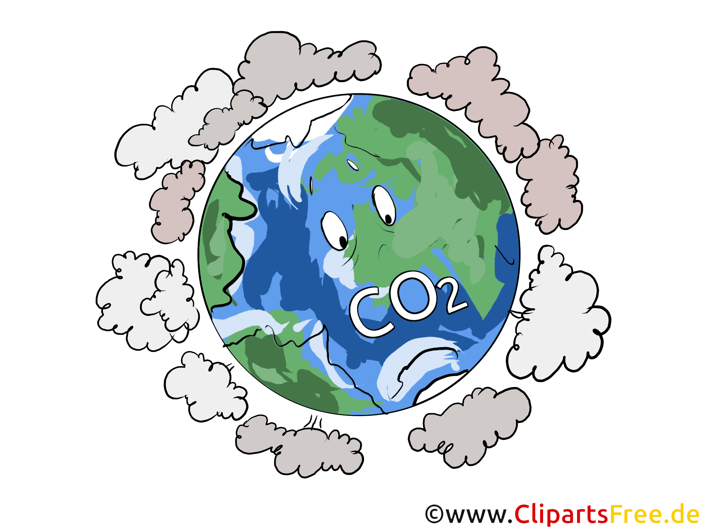 Umwelt auf dem Planeten Erde Stock Bilder, Cliparts, Illustrationen