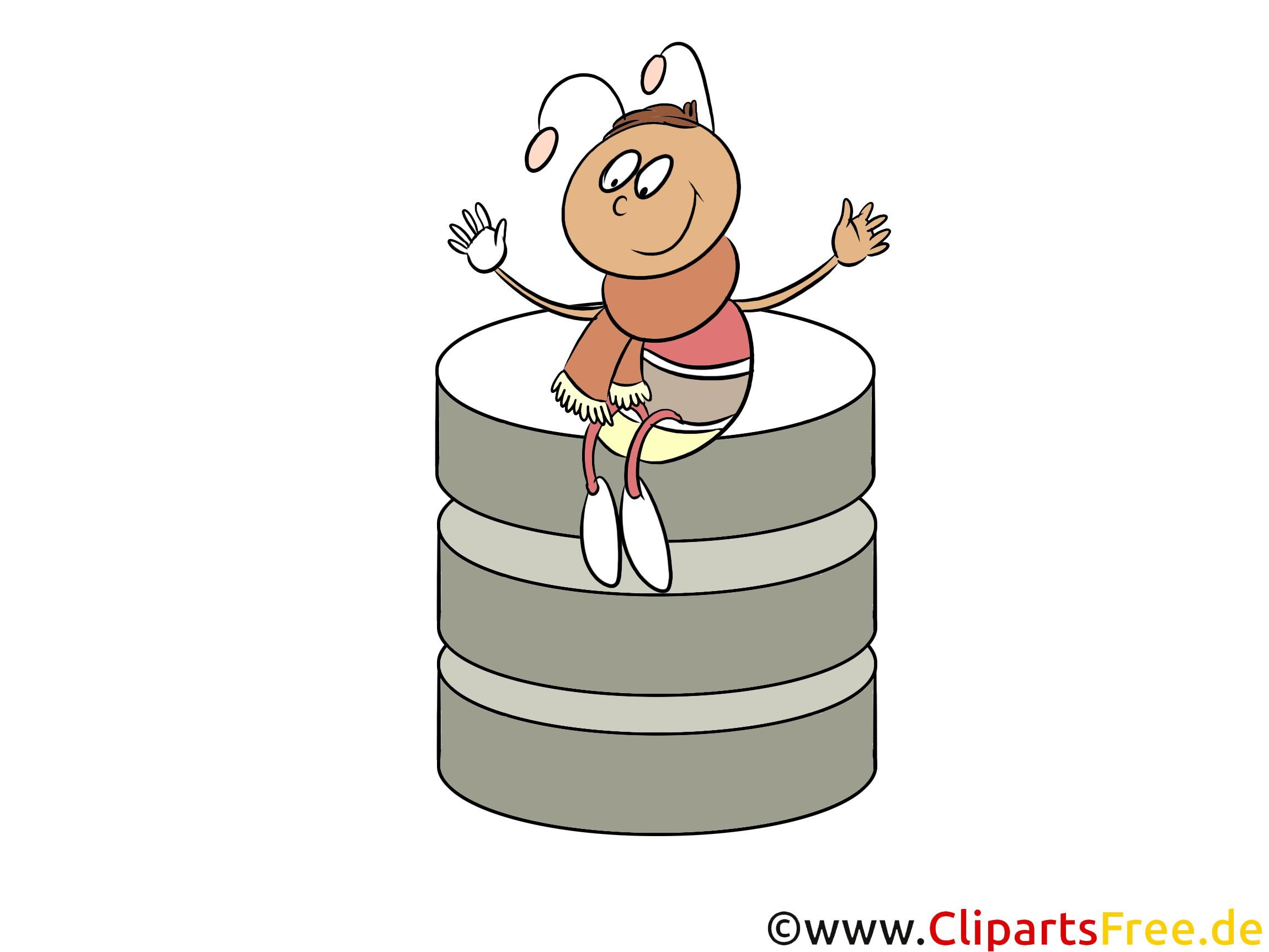 Database Clipart