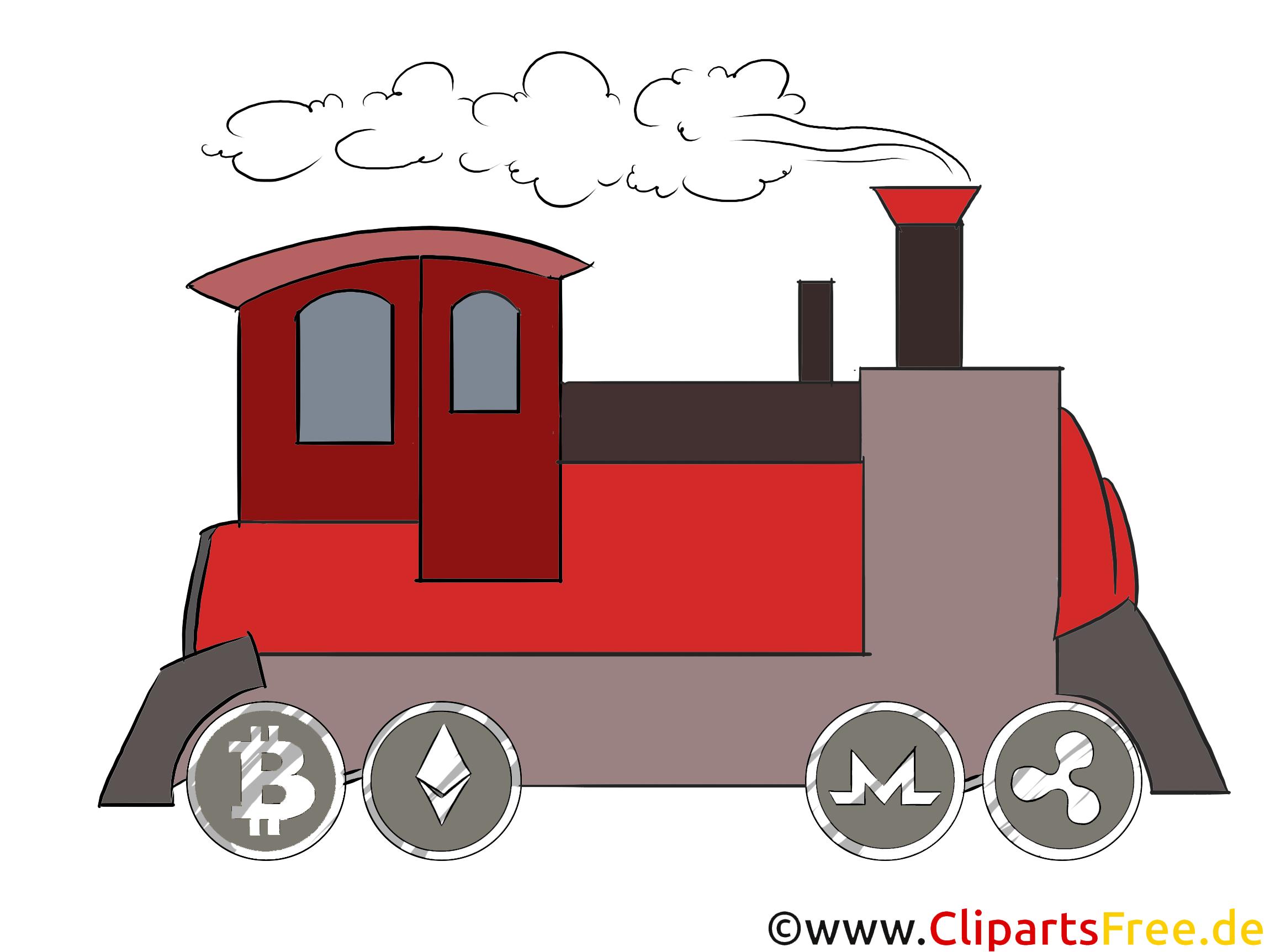 Lokomotive Clipart kostenlos