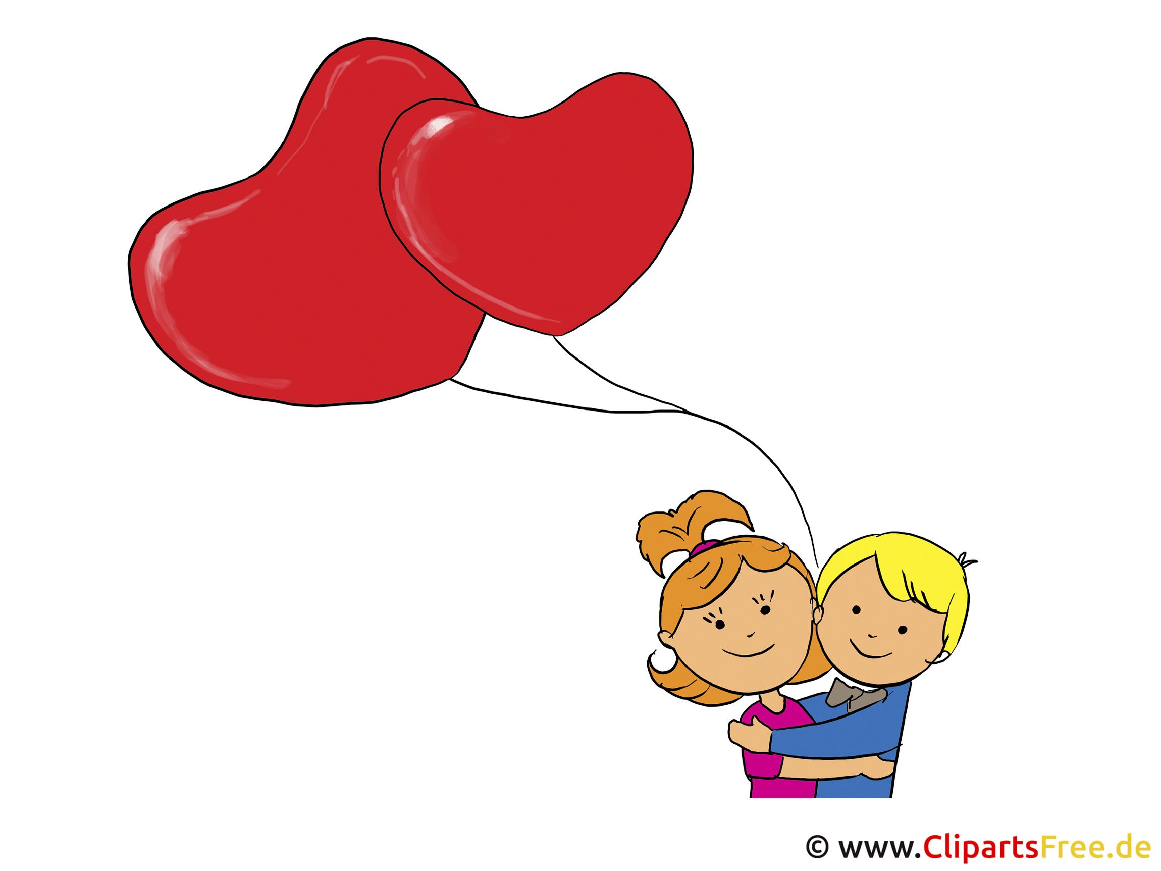 Liebe Grüße zum Valentinstag Bild