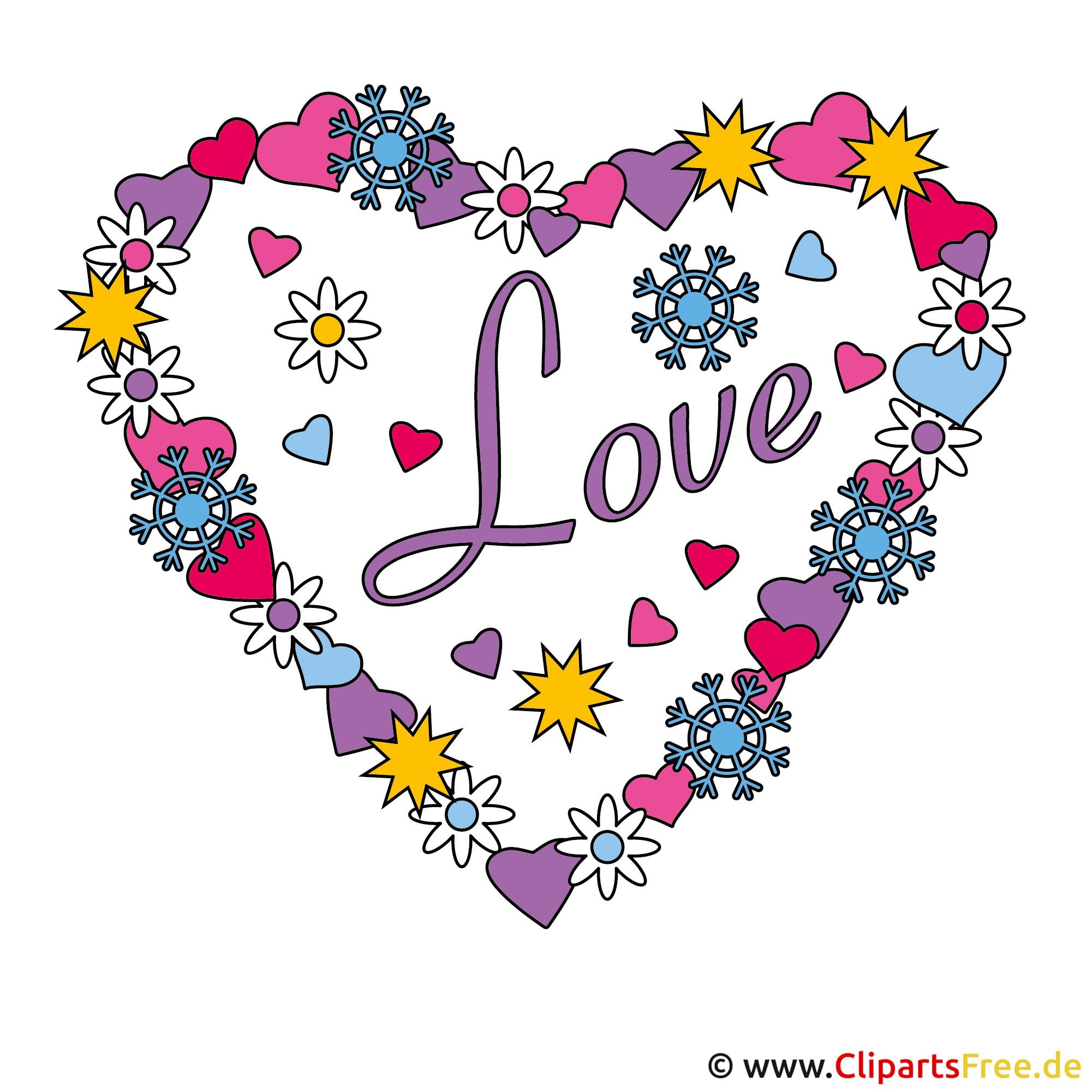 Valentinstag Clipart gratis