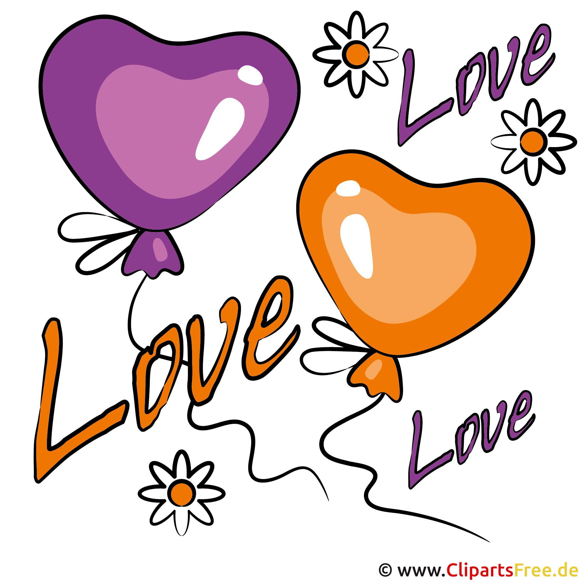 Valentinstag Grafik kostenlos