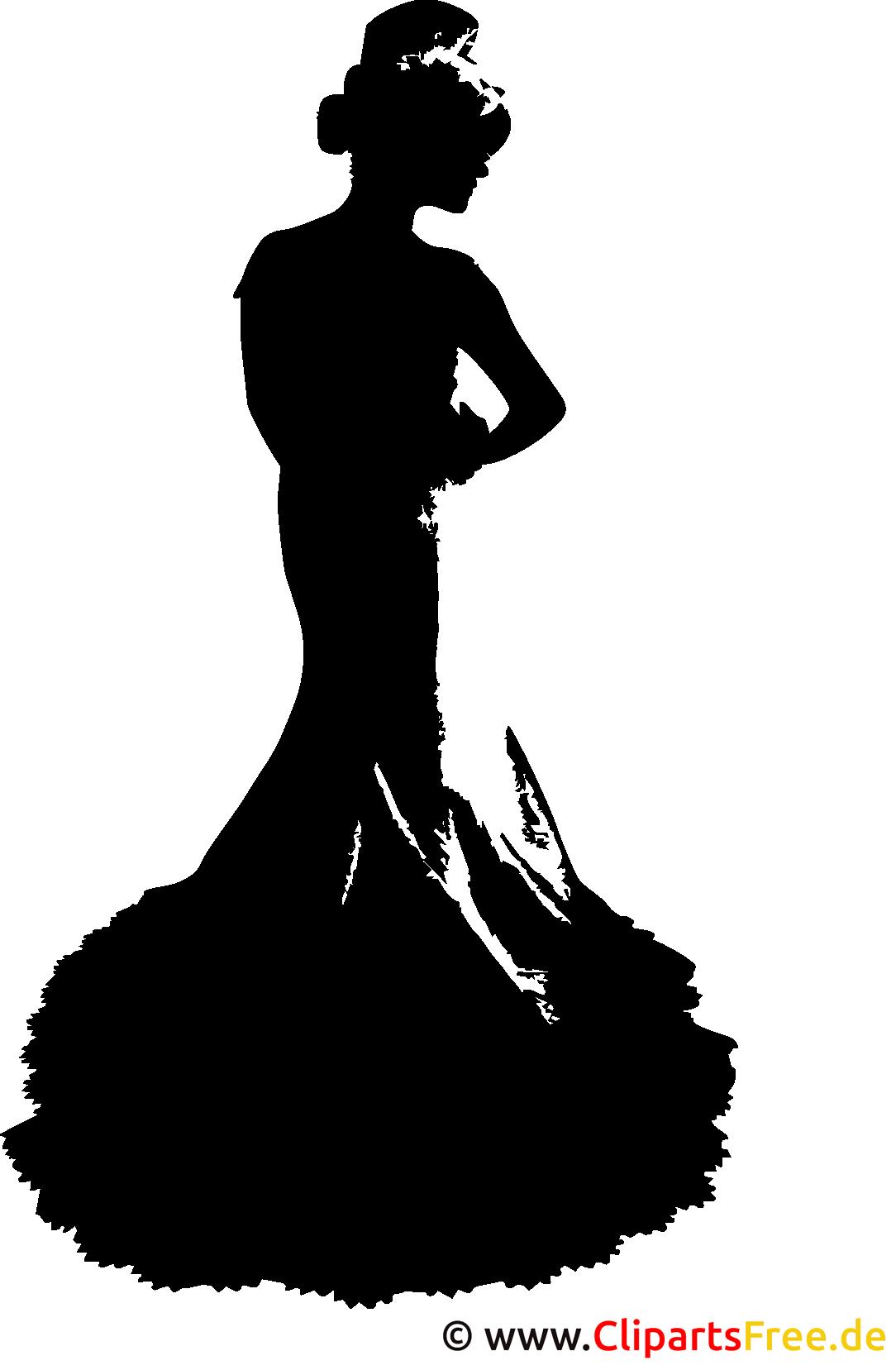 Vektorgrafik Braut im SVG-Format