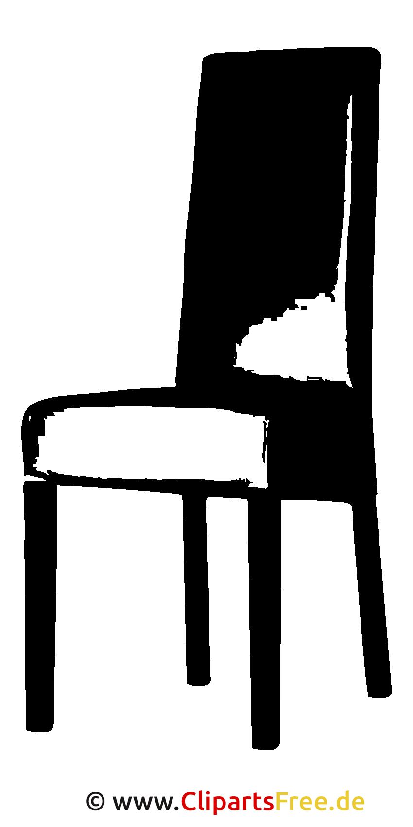 Clipart SVG - Lederstuhl Bild
