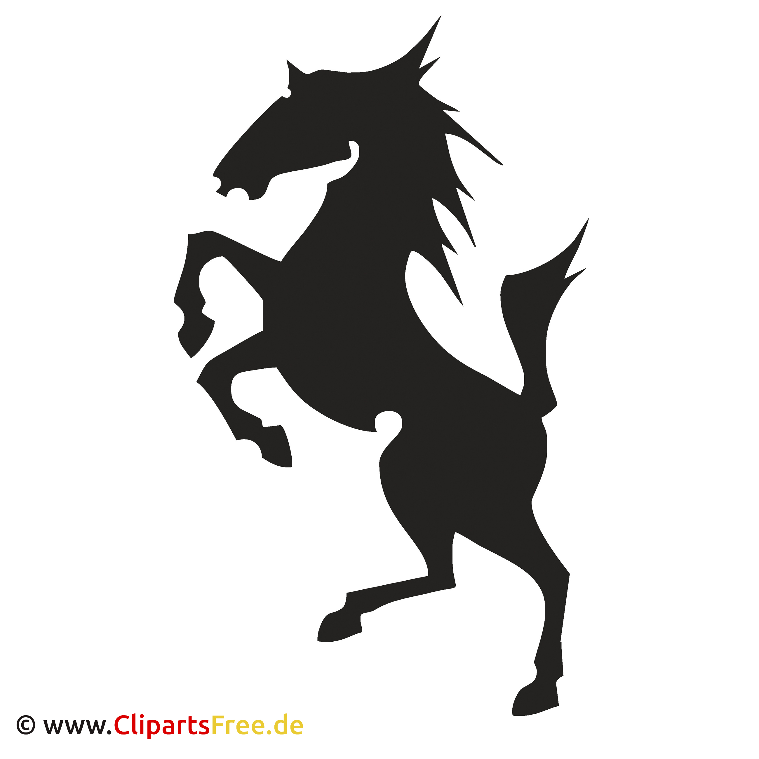 Pferd Bild Clipart - Vektoren kostenlos