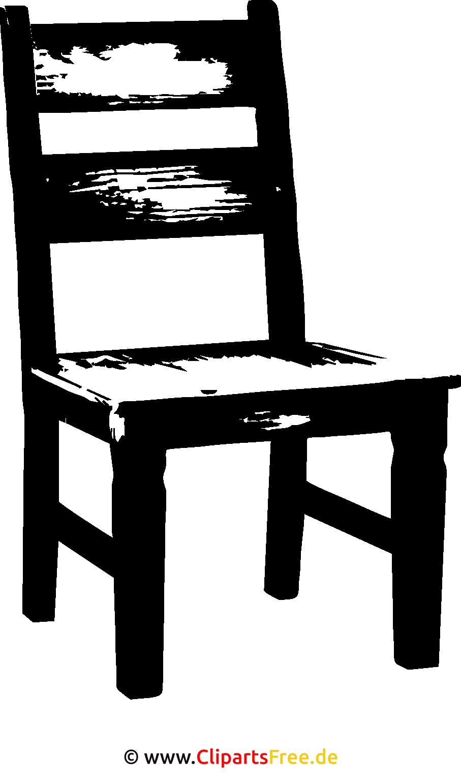 SVG Clipart Stuhl