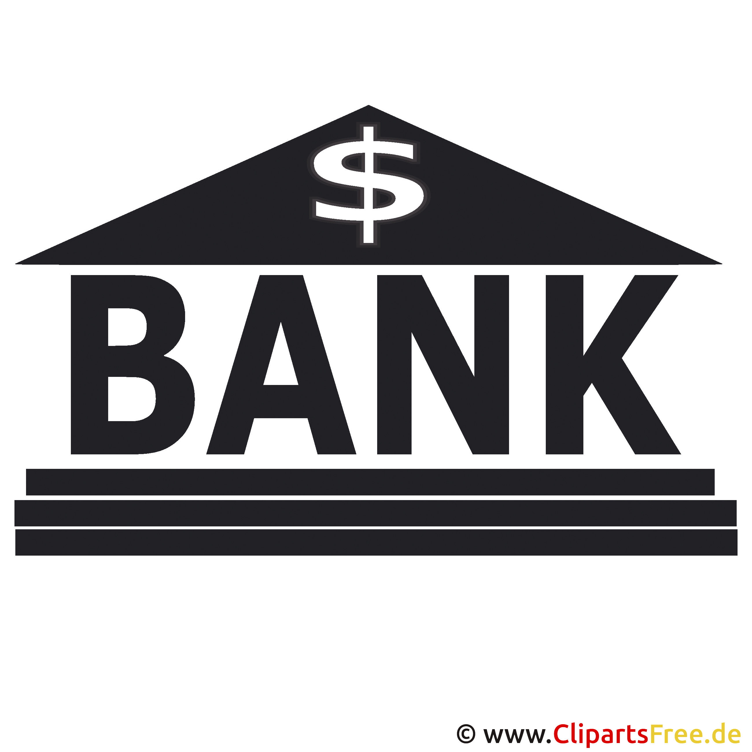 Vektorbild Bank SVG