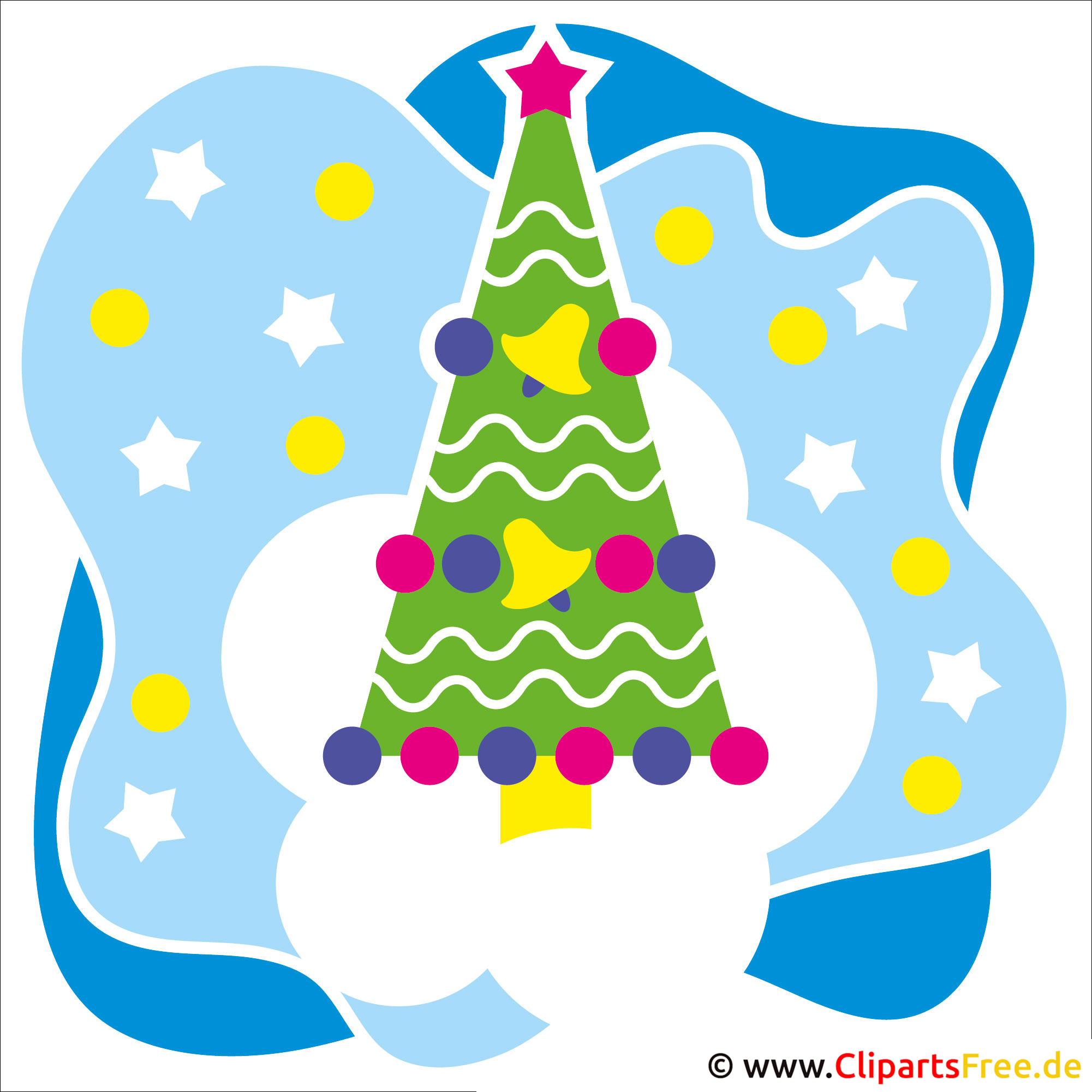 Clipart Frohe Weihnachten kostenlos