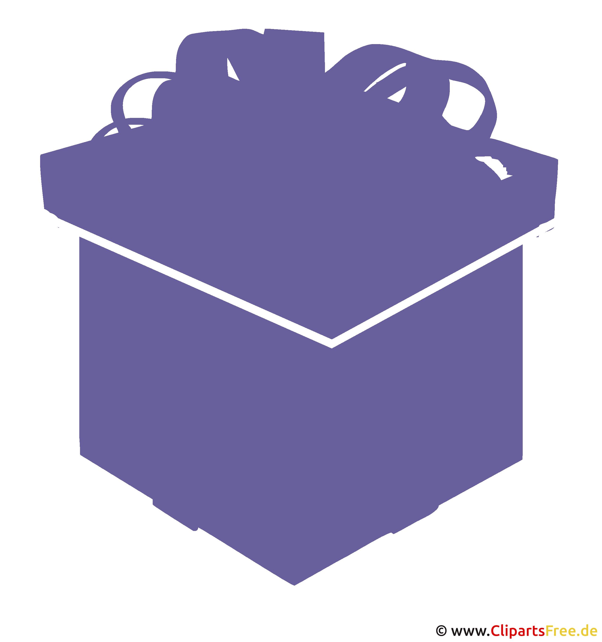 Geschenk zu Weihnachten Clip Art-Grafik