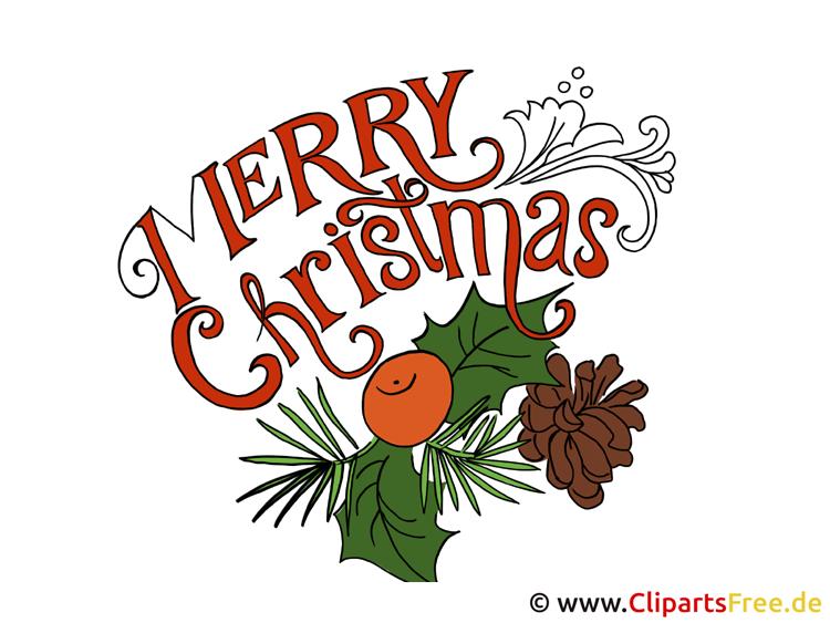 Karte zu Weihnachten