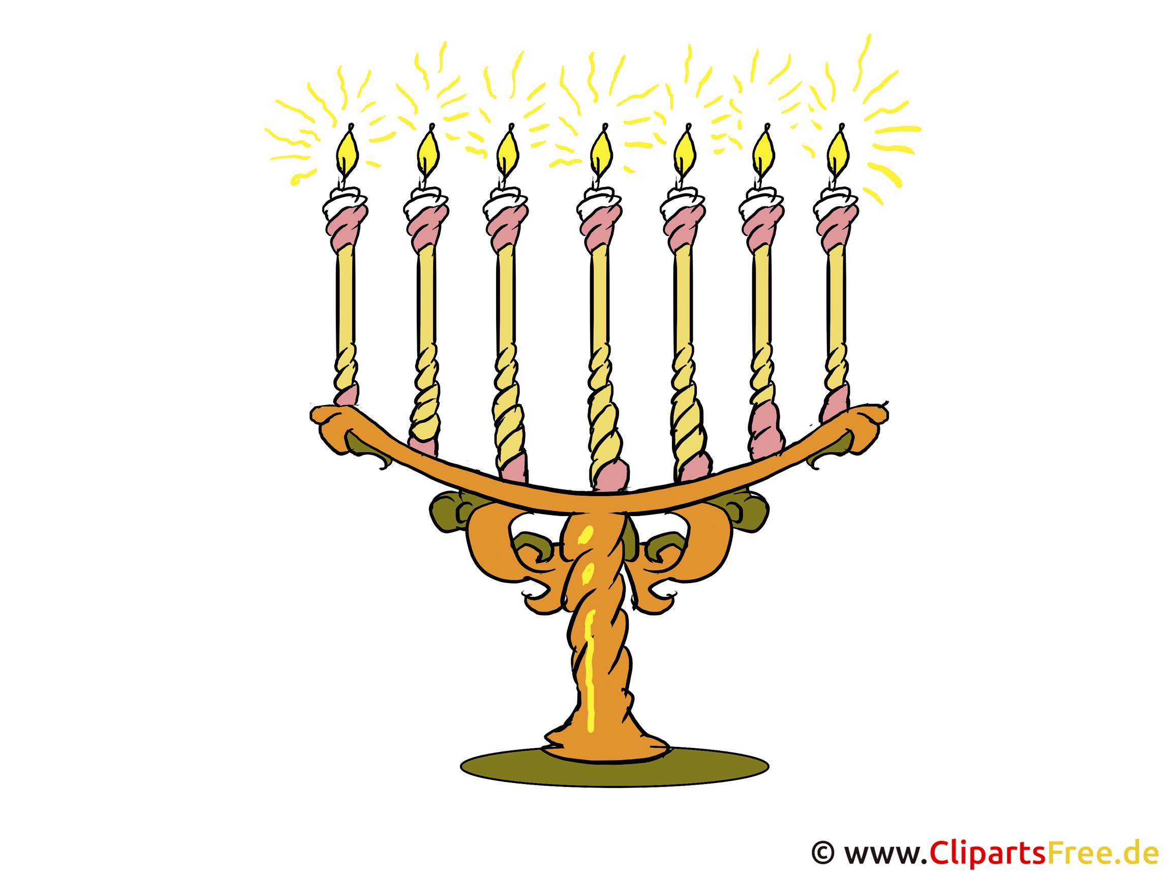 Kerzen Clipart-Bild