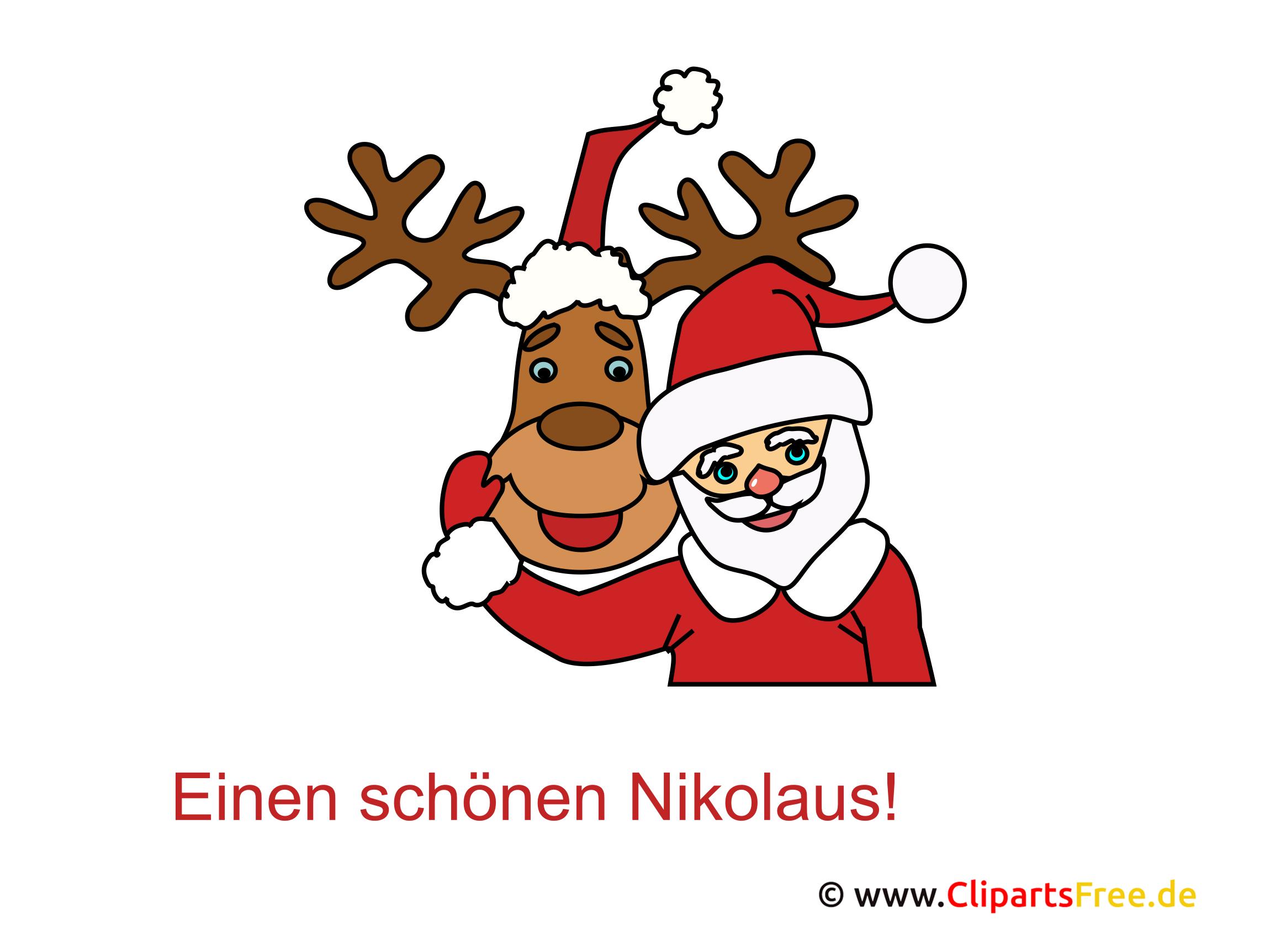 Nikolaus Bild gratis