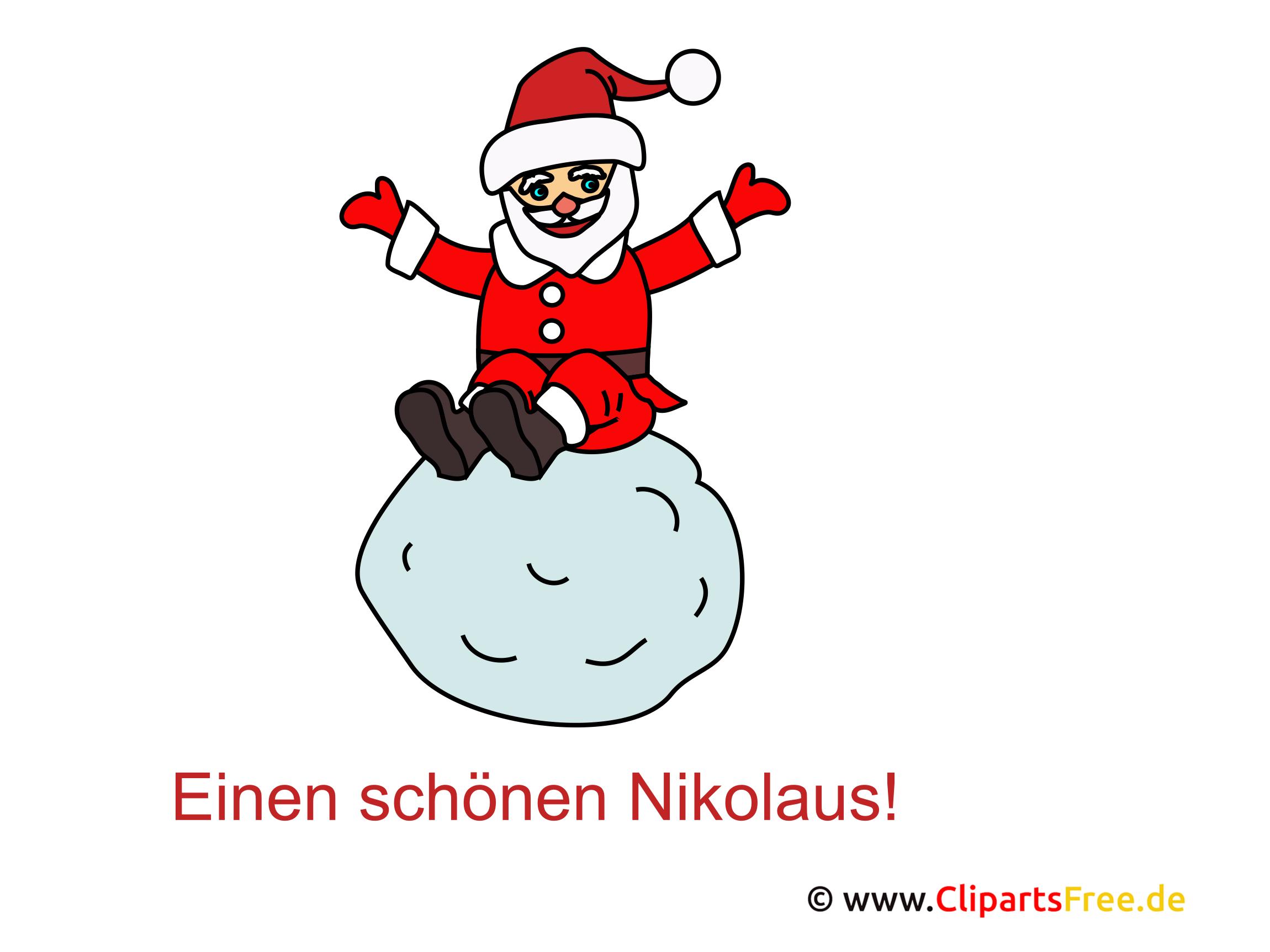 Nikolaus Bilder lustig