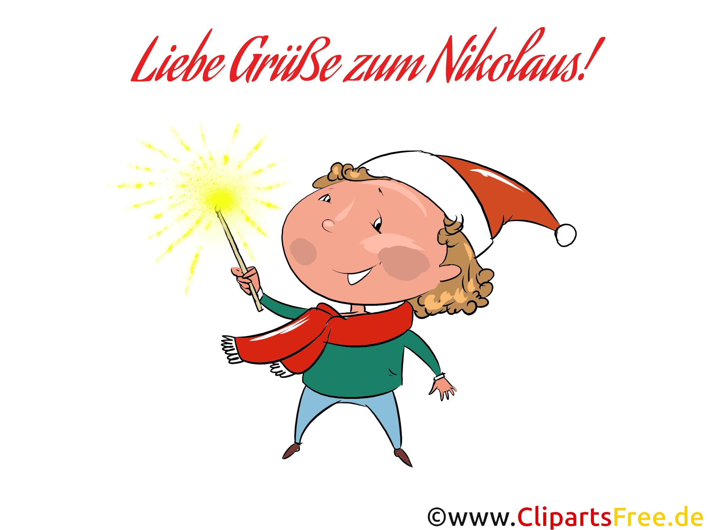 Nikolaus Grafiken und Cliparts