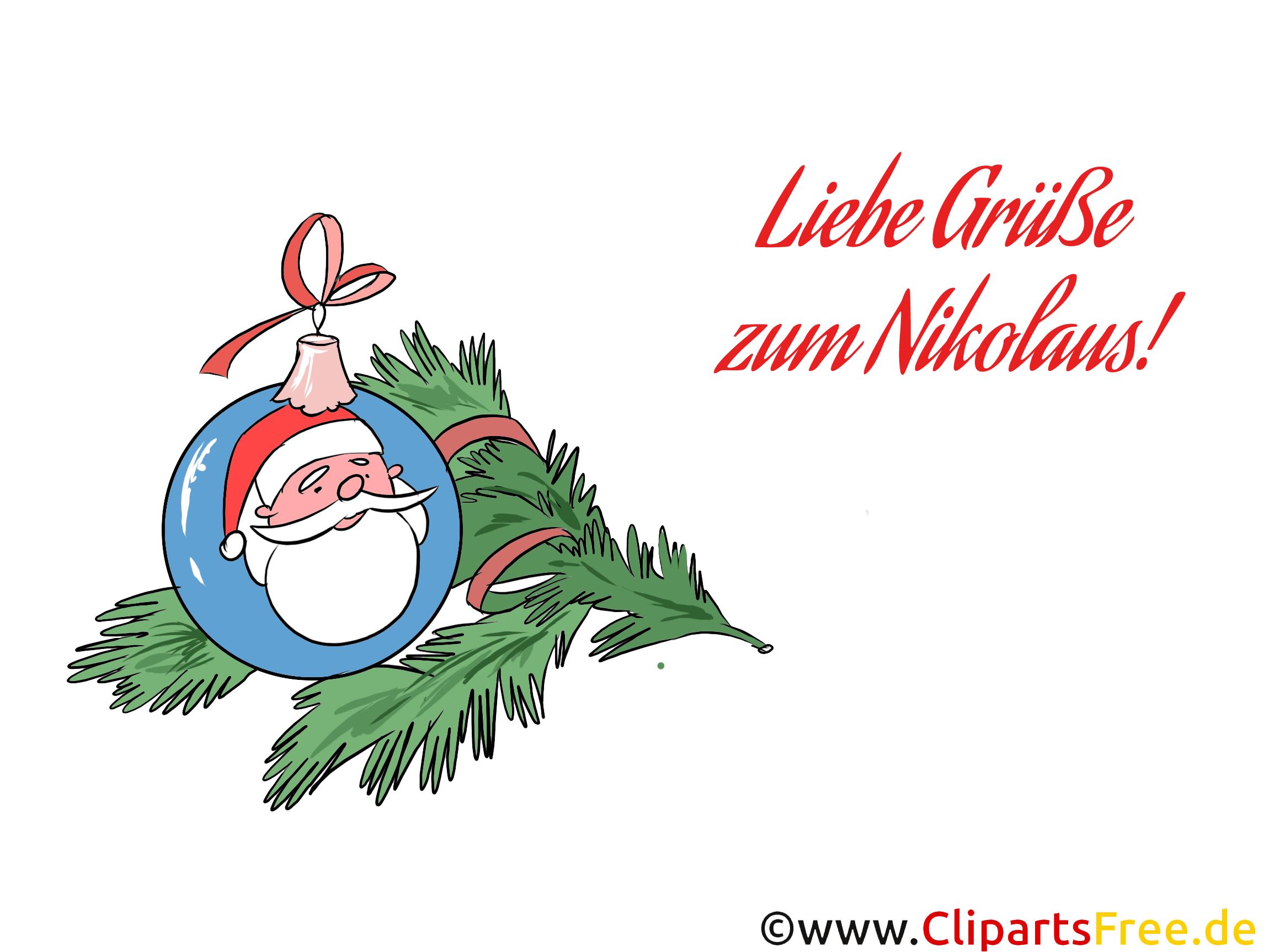 Nikolausbilder zum Drucken zu Weihnachten