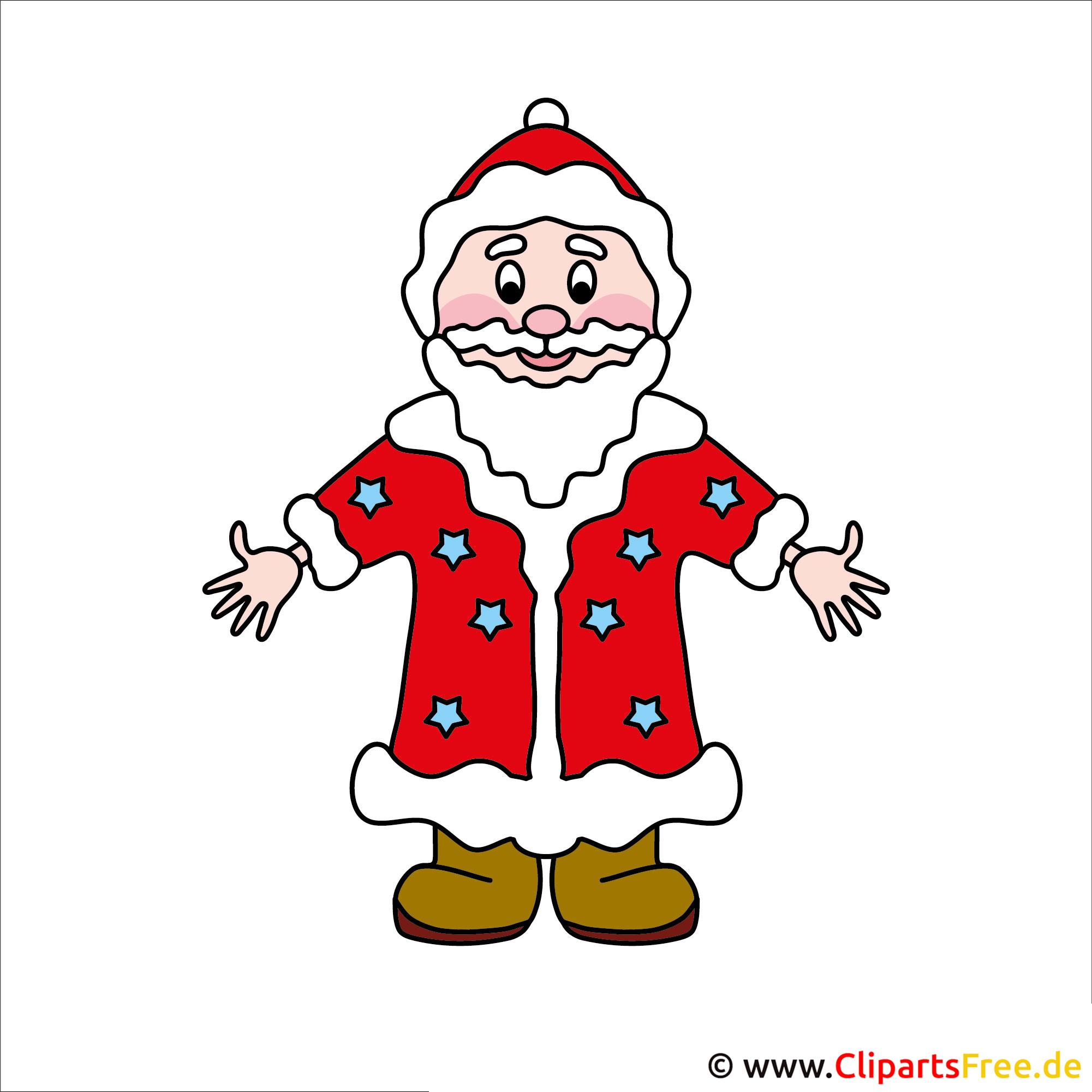 Väterchen Frost Clipart - Bilder zu Weihnachten