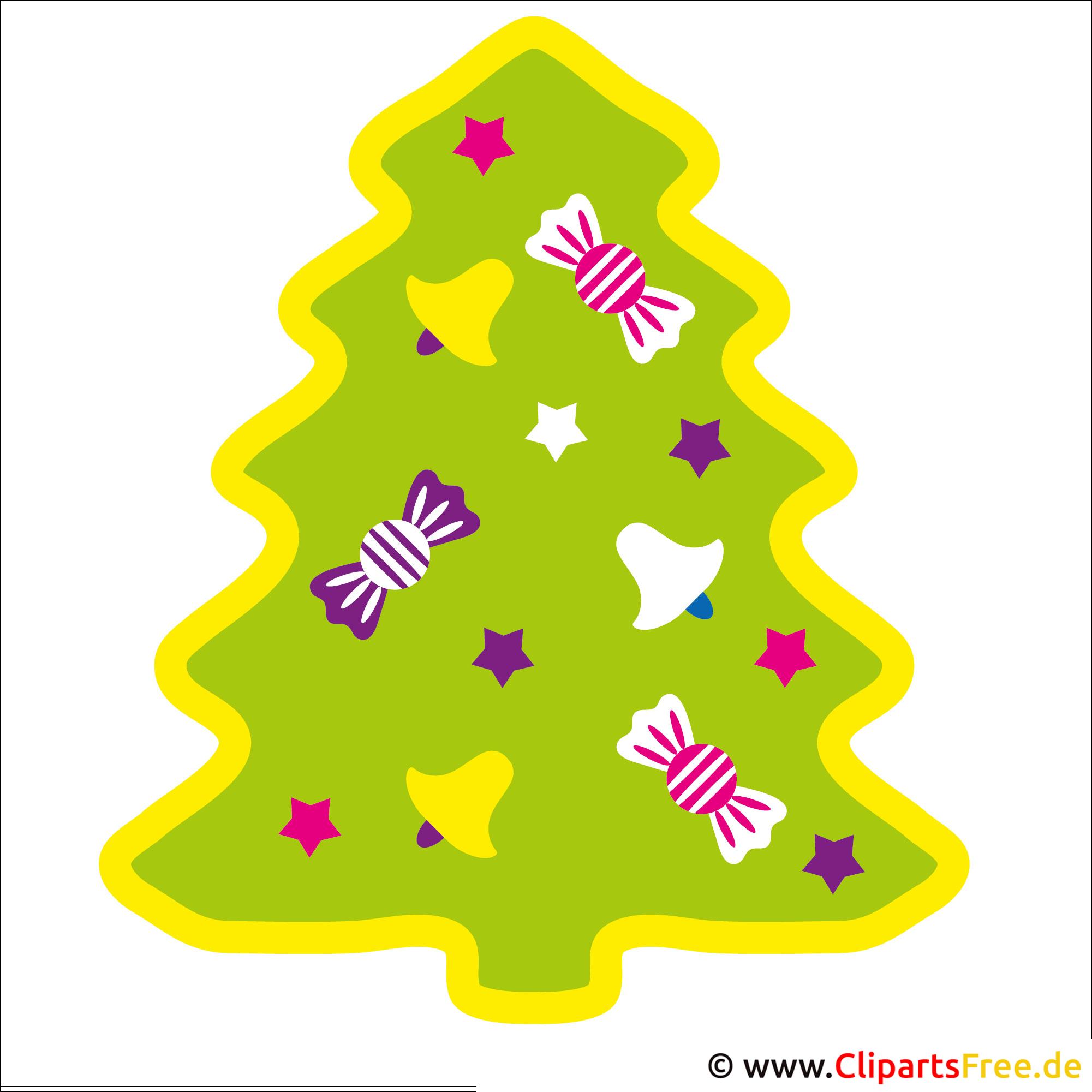 Weihnachtsbaum Clipart zu Weihnachten