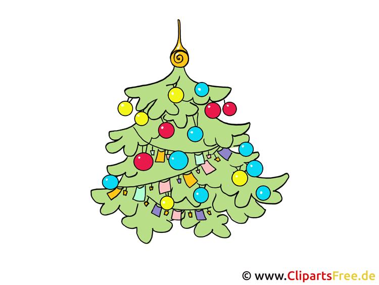 Weihnachtscliparts Tannenbaum