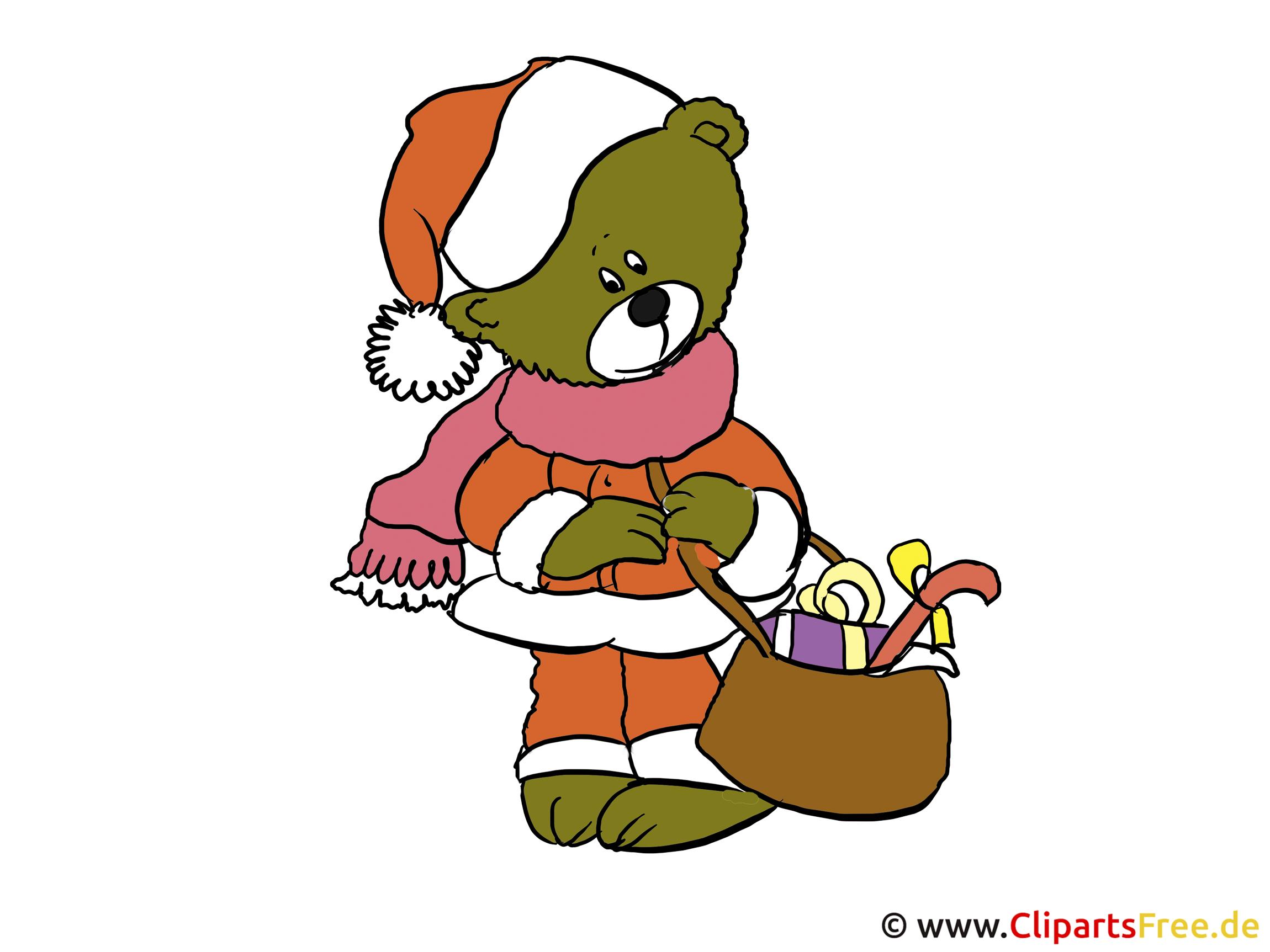 Weihnachtskarten selbst gestalten mit unseren Cliparts