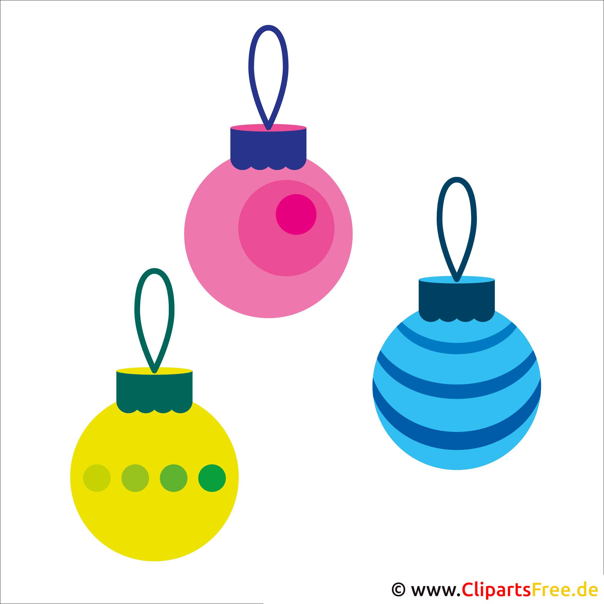 Weihnachtsschmuck Clipart zu Weihnachten