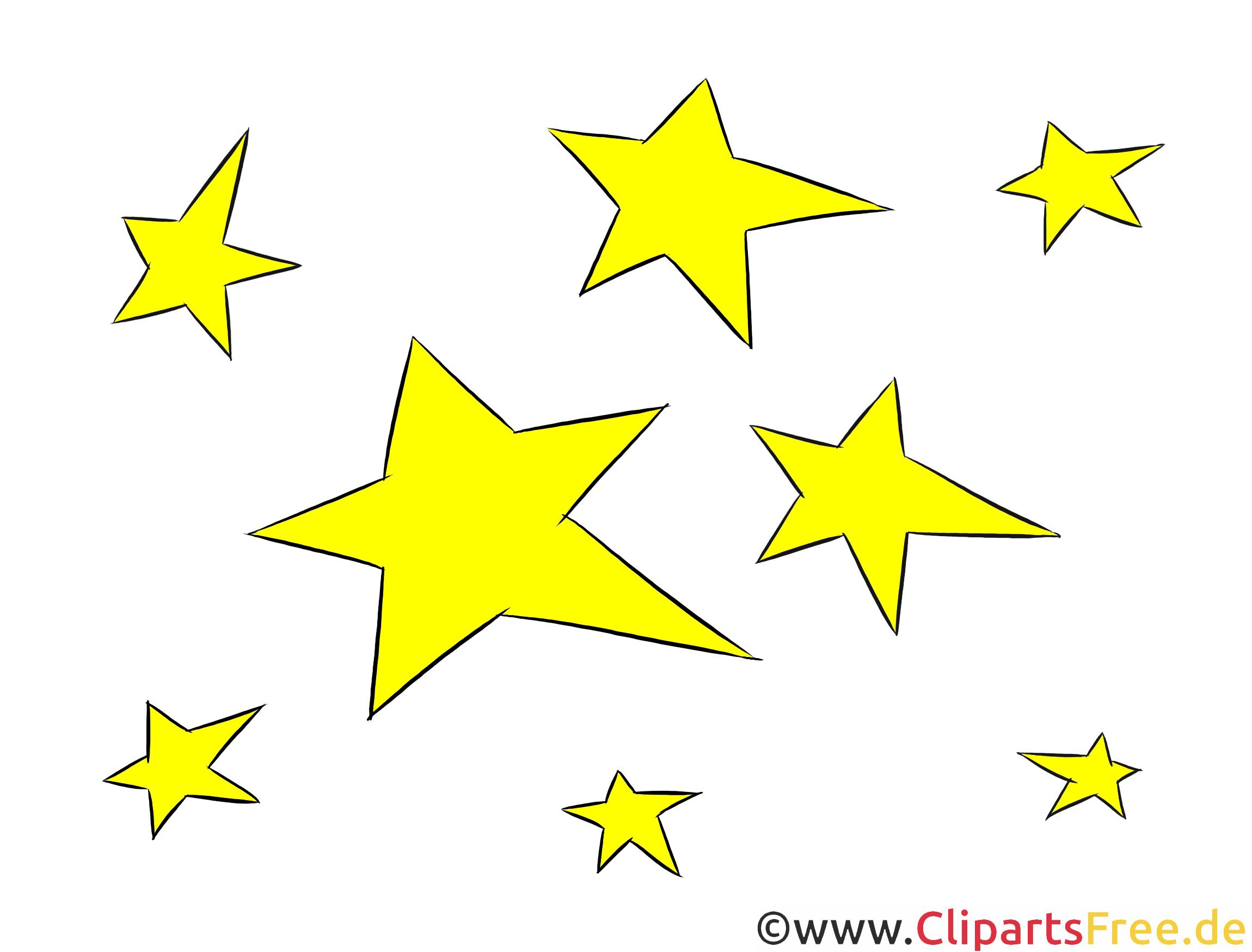 sterne clipart illustration bild kostenlos