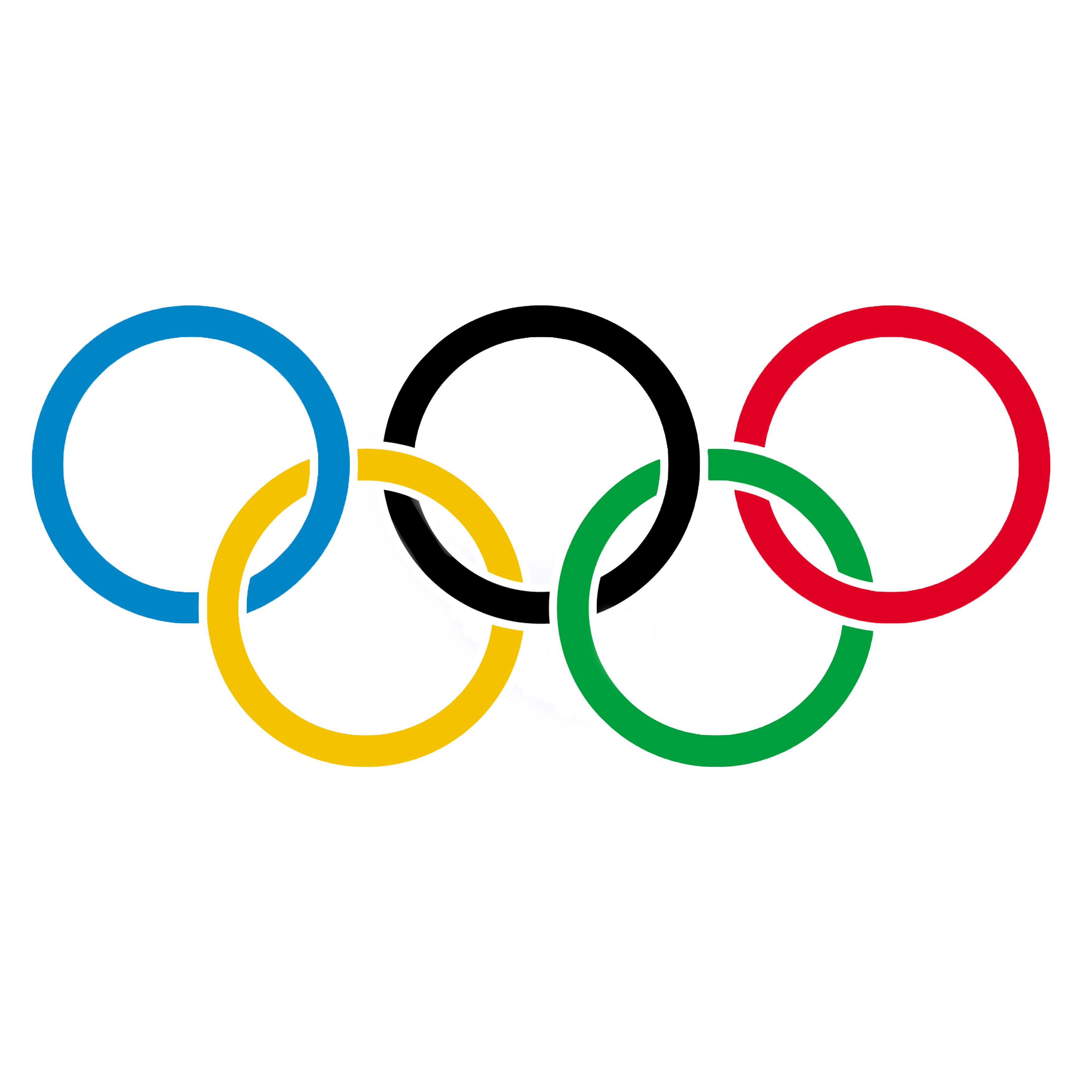 Olympische Ringe Bild, Clipart, Illustration