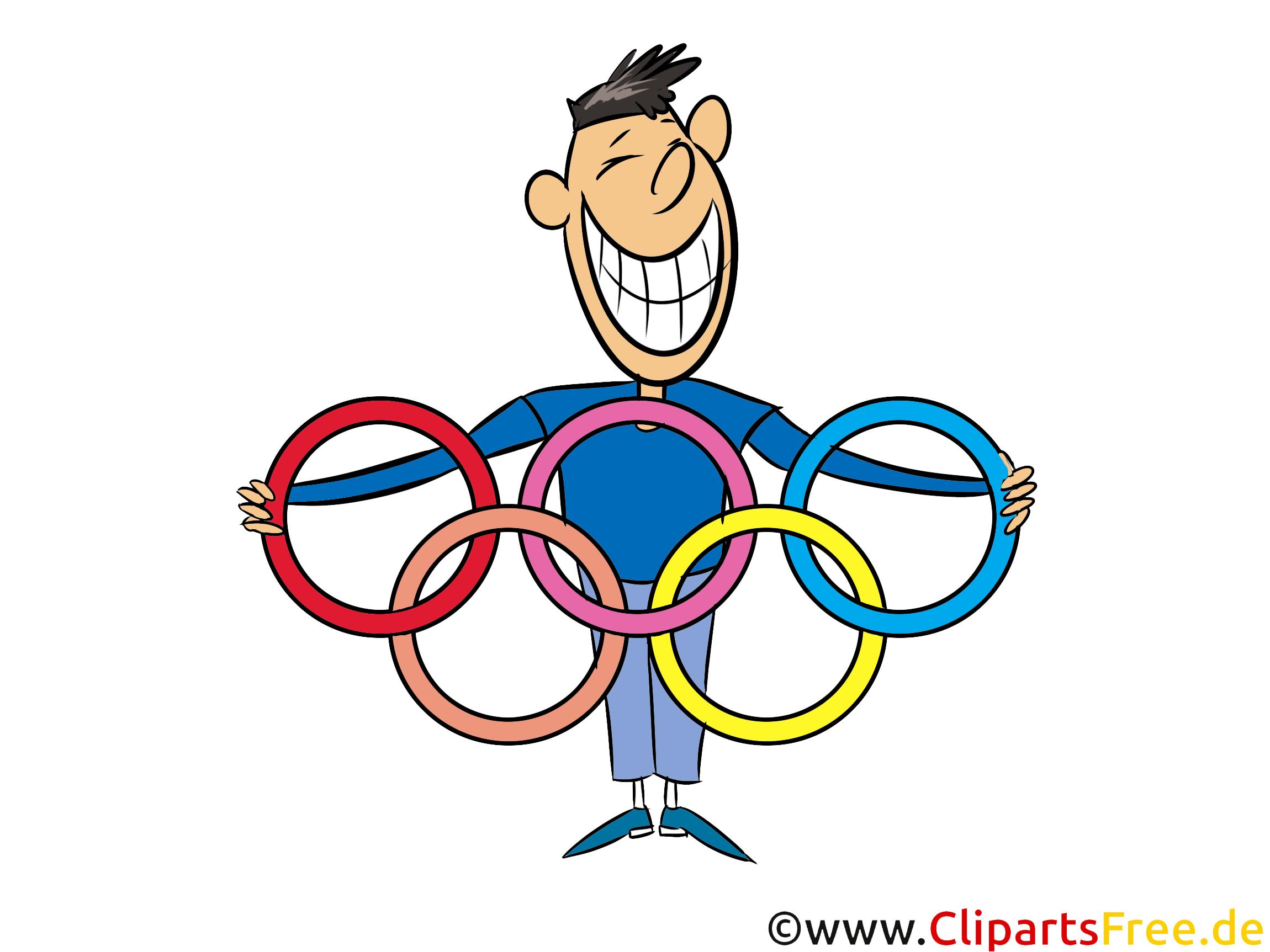 Sport Clipart Olympische Ringe