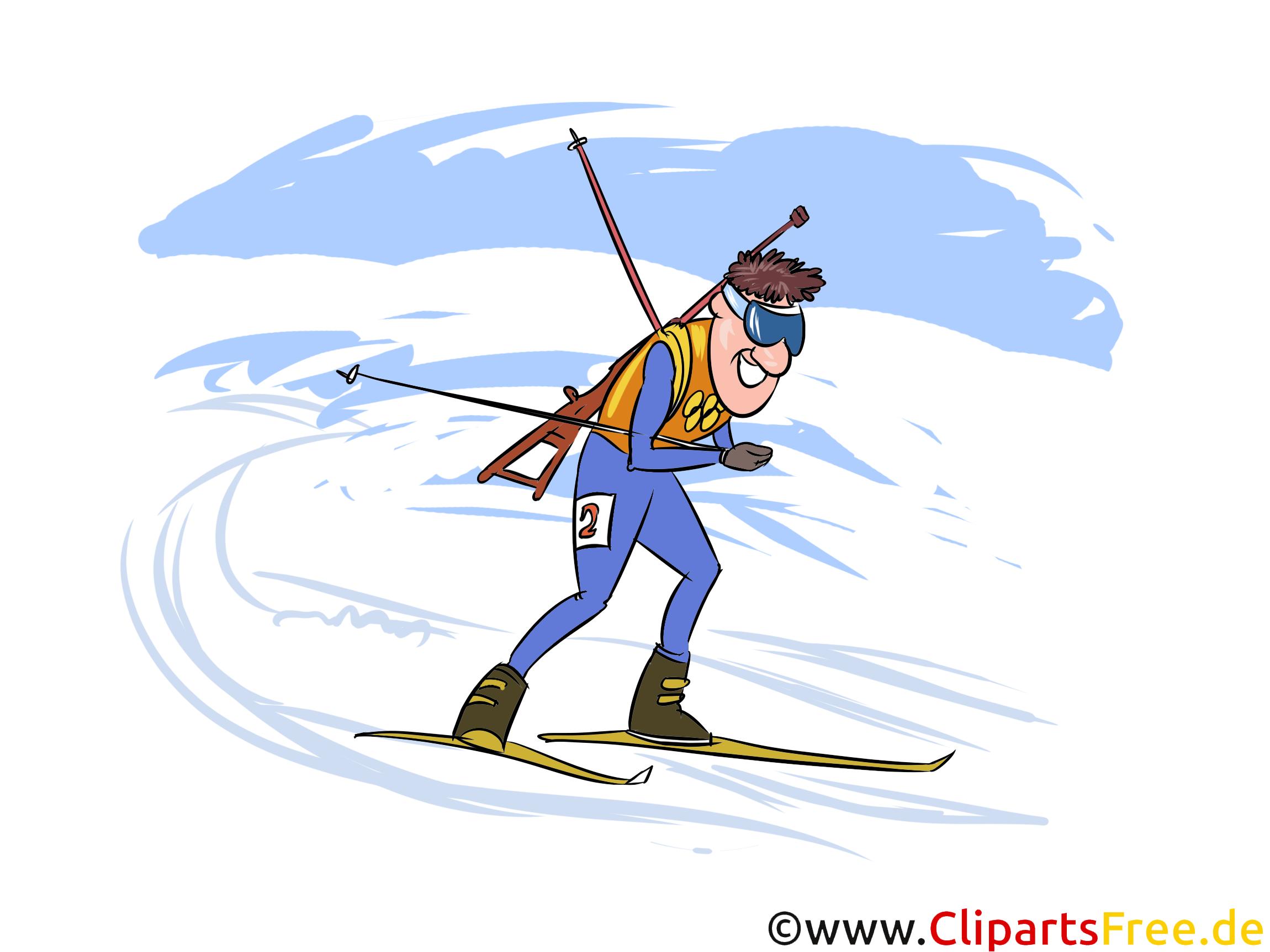 Wintersport Biathlon Bilder kostenlos