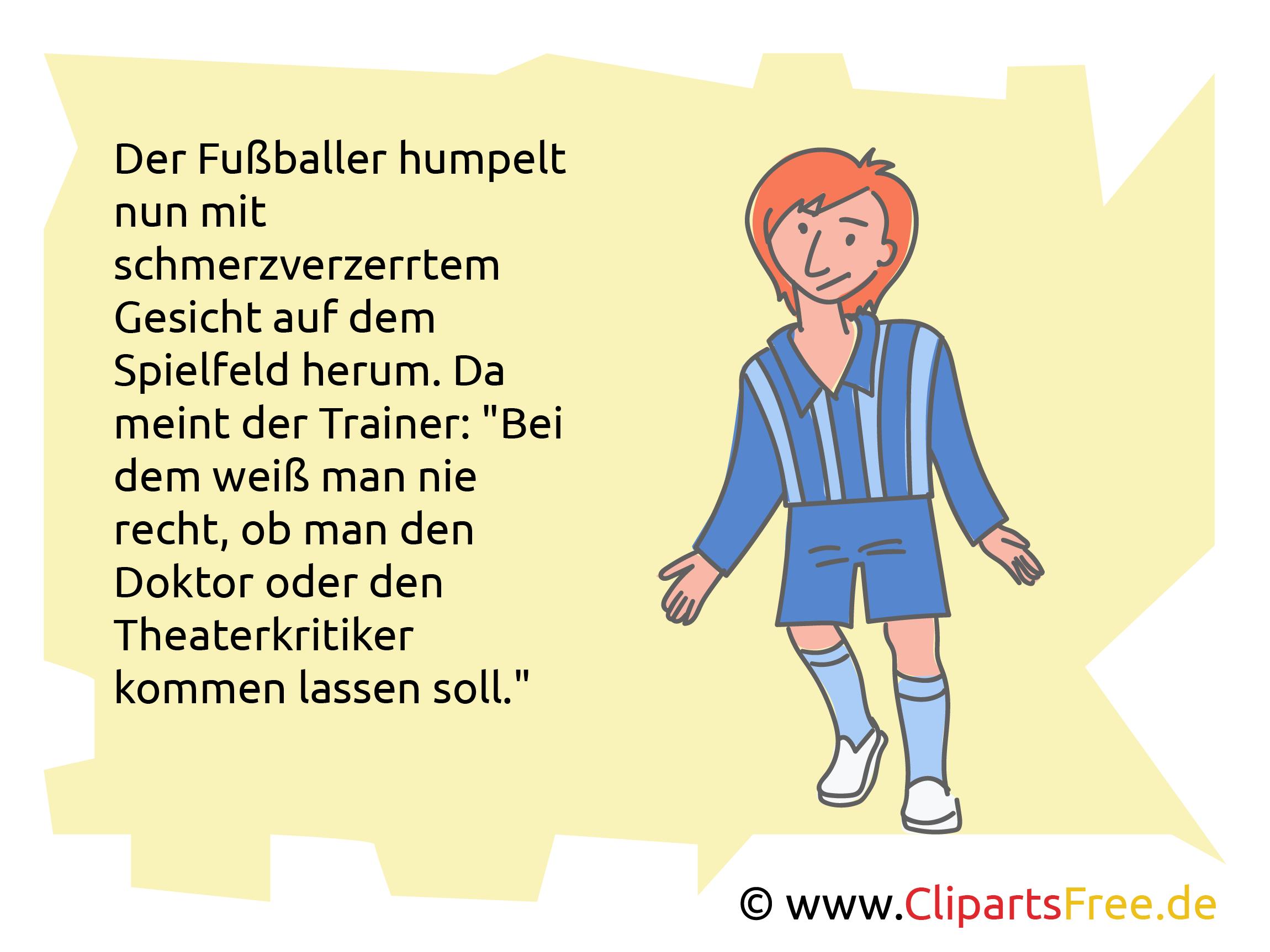 Fußballwitze und Sprüche