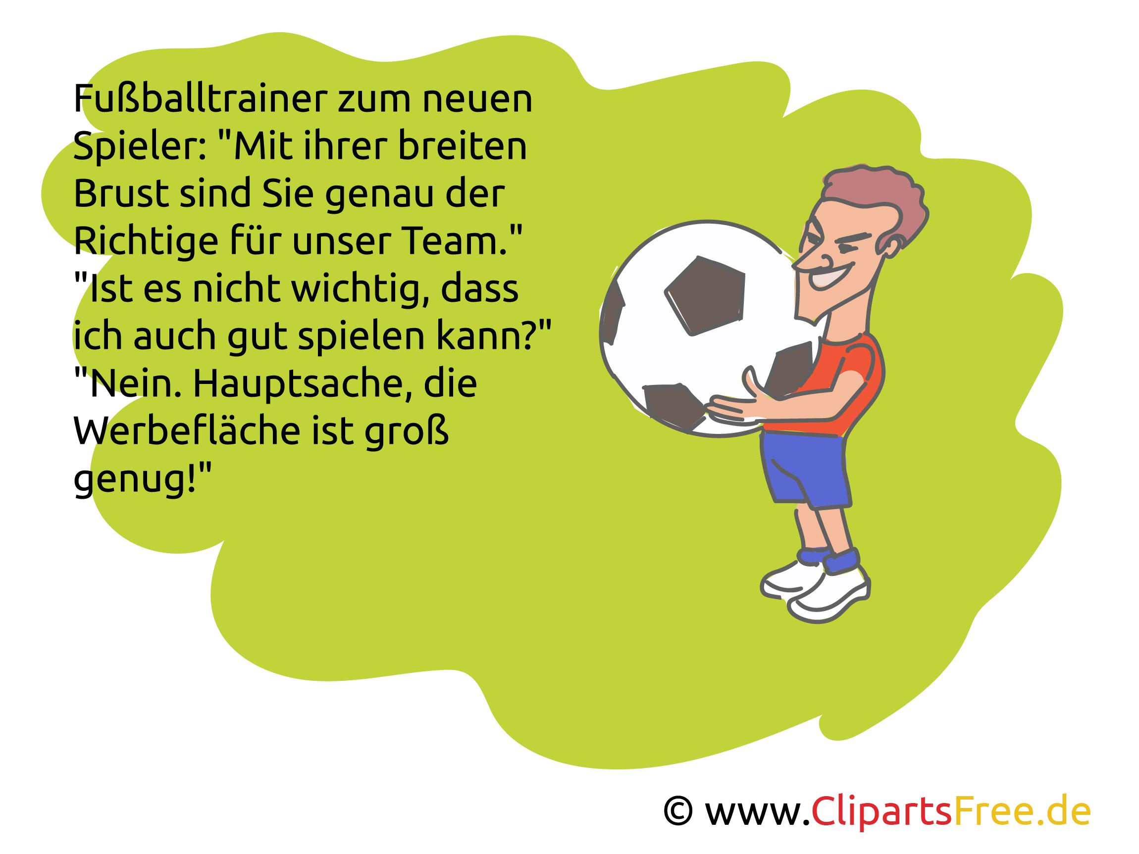 Lustige Fußball-Witze über Schiedsrichter und Spieler