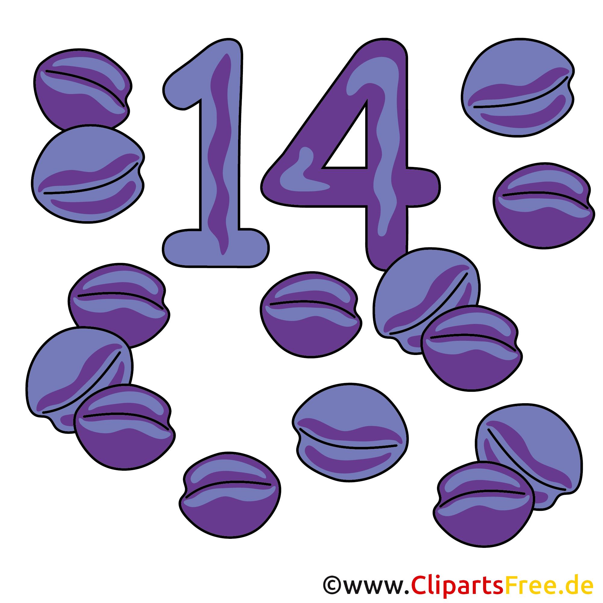 14 - Zahlen Bilder