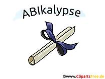 Abi Motto - Abitur için komik resimler