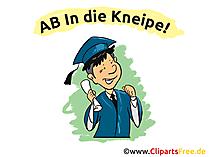Abi Plakate Sprüche - Ab in die Kneipe!