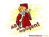 Glückwunsch zum Abitur - AB Ins Vergnügen!