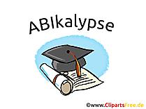 Glückwünsche zum Schulabschluss und zum Abitur