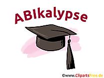 Glückwunschkarte zum Abitur - ABIkalypse