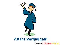 Gratulation zum Abitur Karte